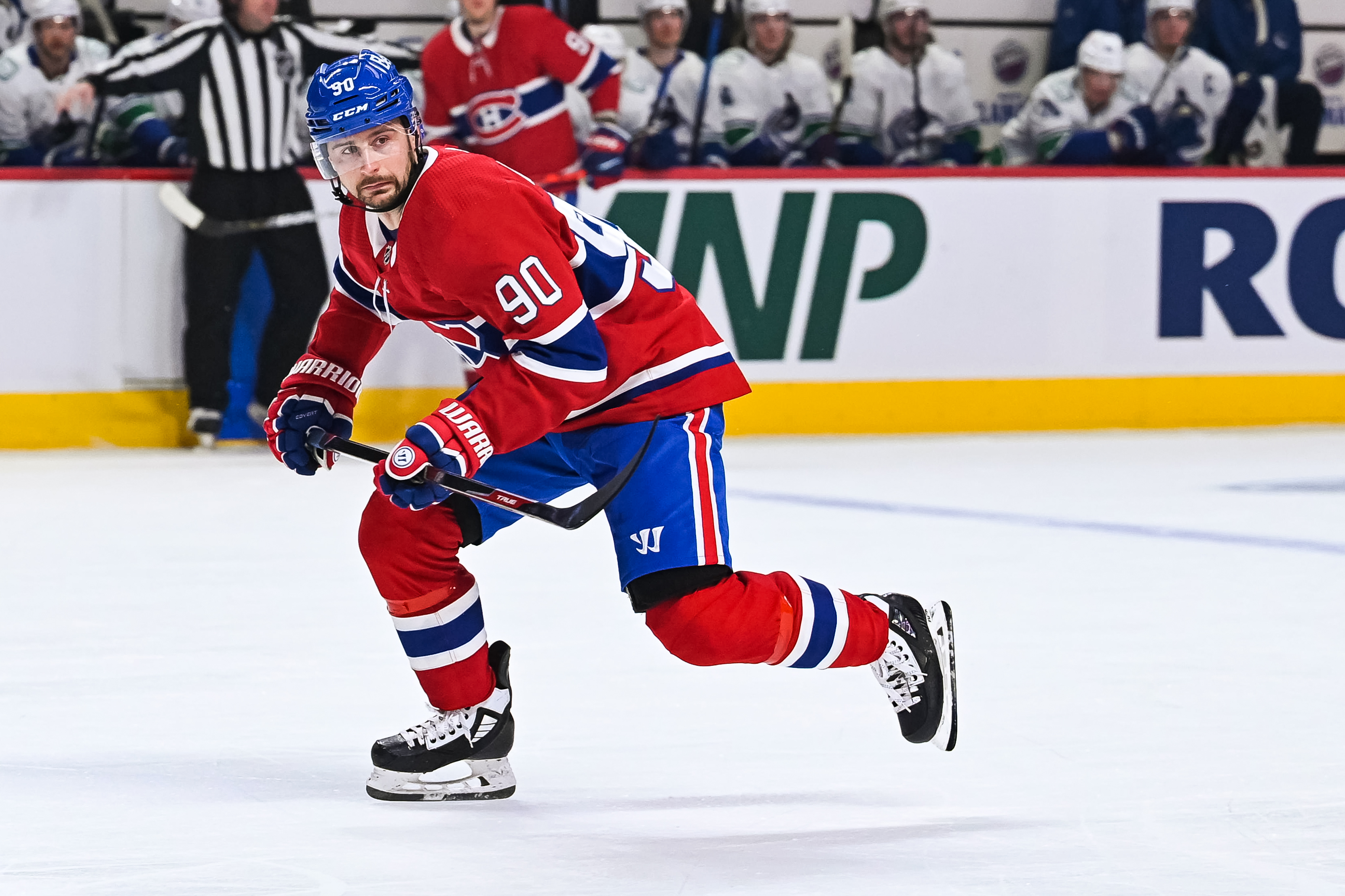 NHL: FEB 02 Canucks at Canadiens