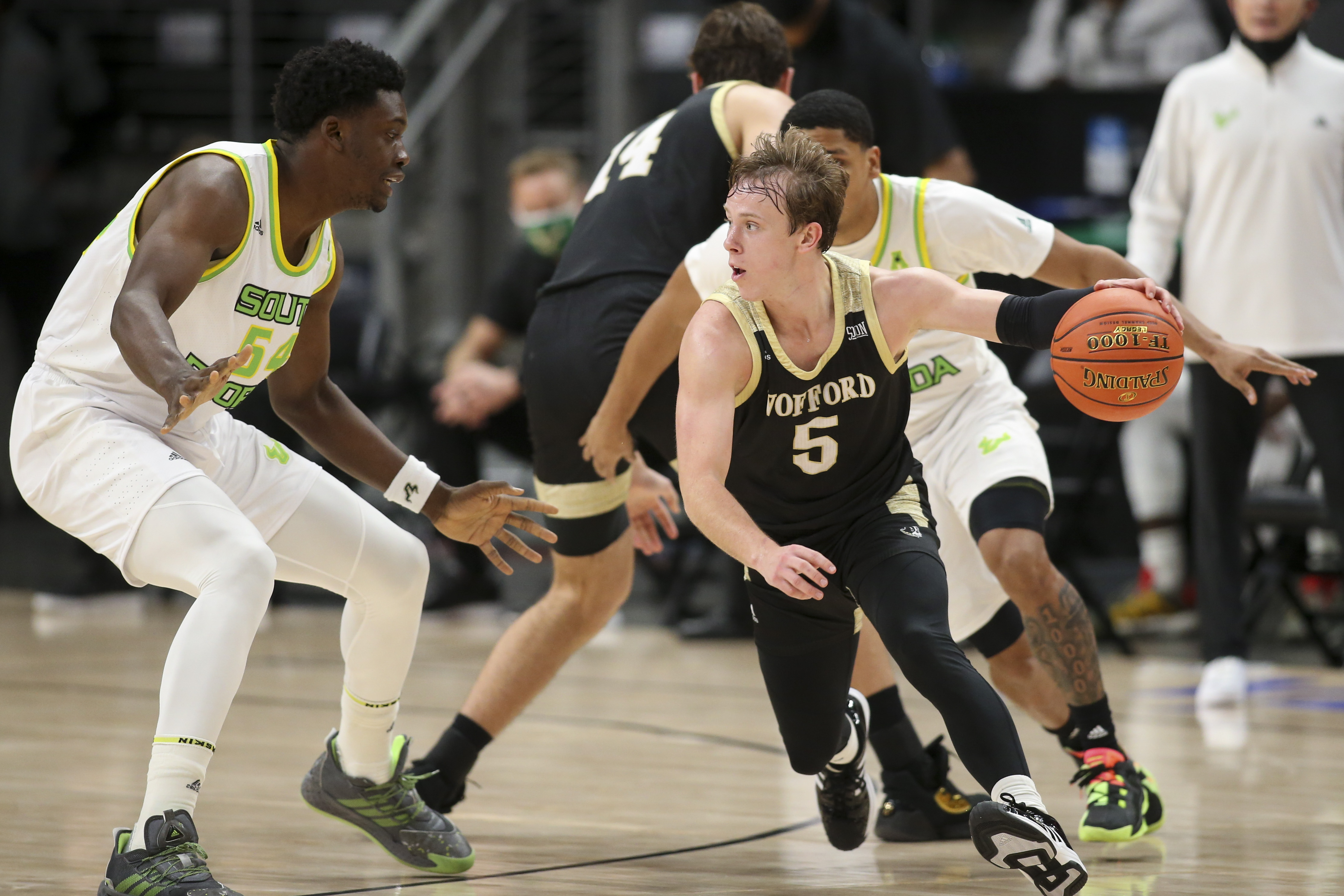 NCAA Basketball: Holiday Hoopsgiving-Wofford at South Florida