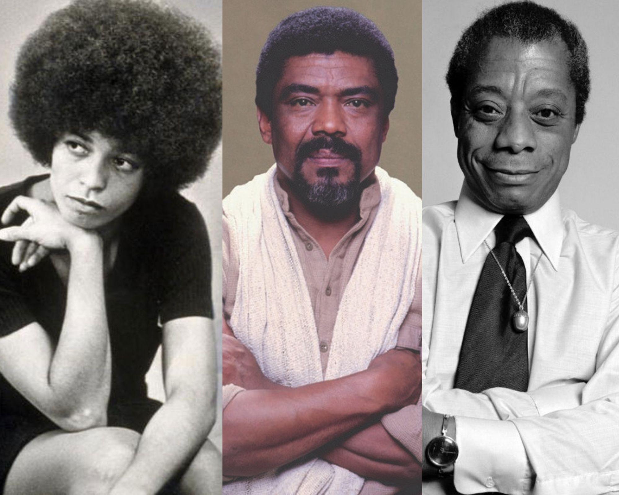 Angela Davis, Alvin Ailey and James Baldwin