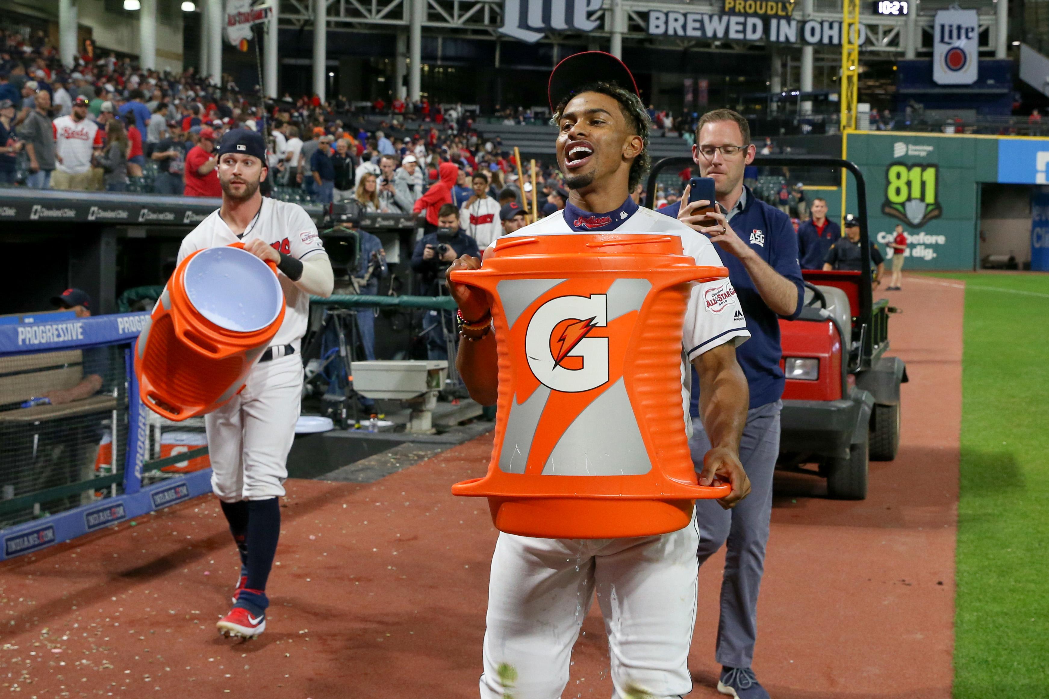 MLB: JUN 11 Reds at Indians