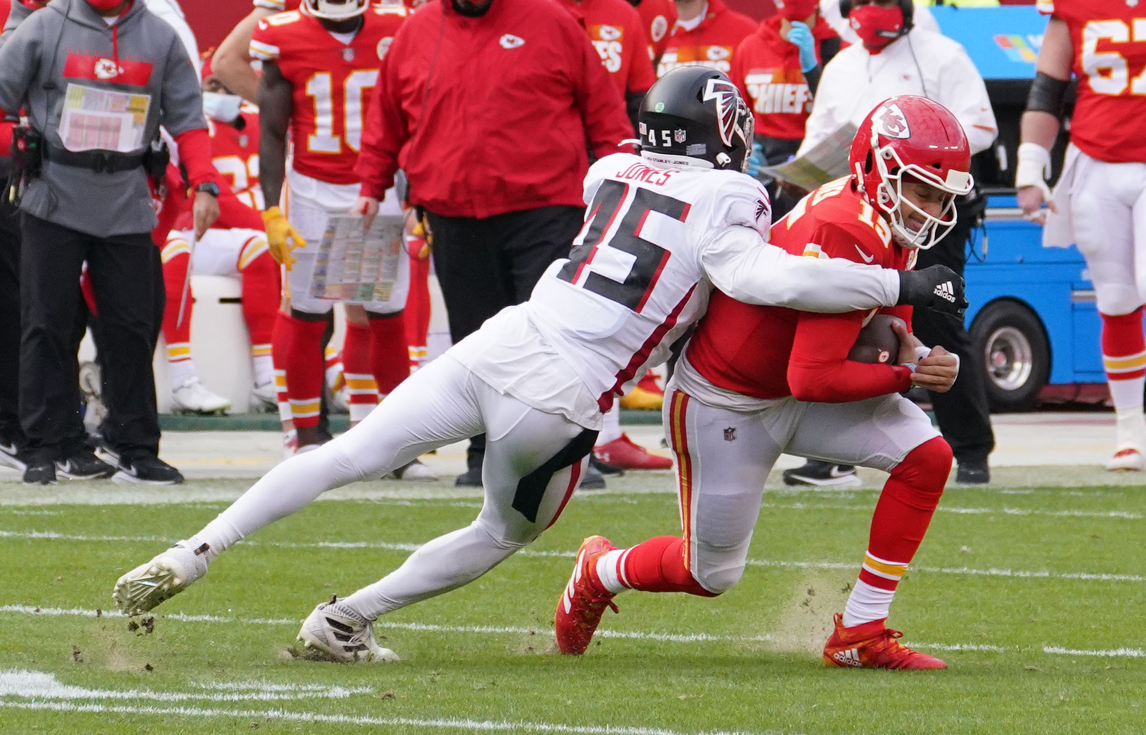 NFL: Atlanta Falcons at Kansas City Chiefs