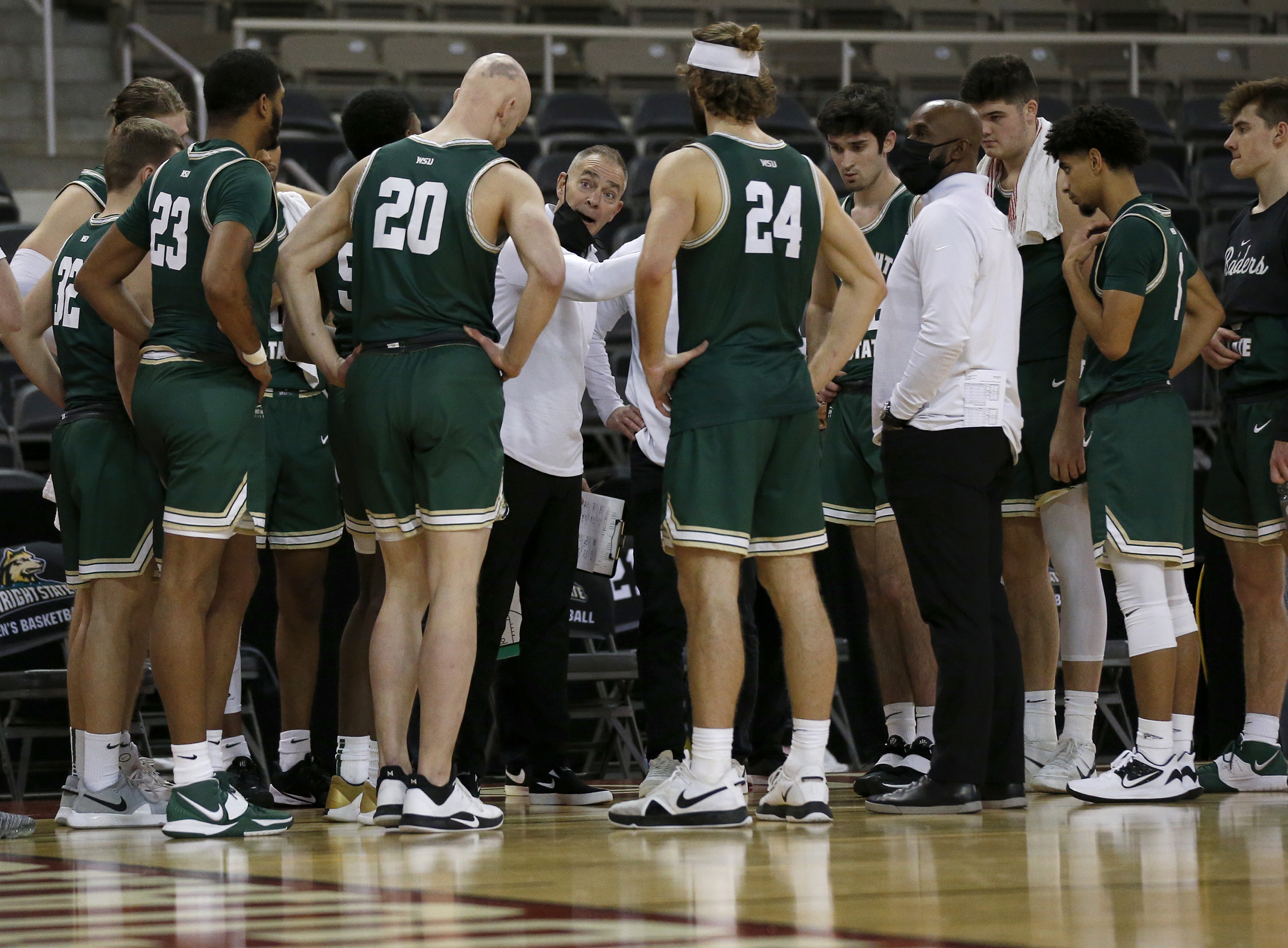 COLLEGE BASKETBALL: JAN 22 Wright State at IUPUI