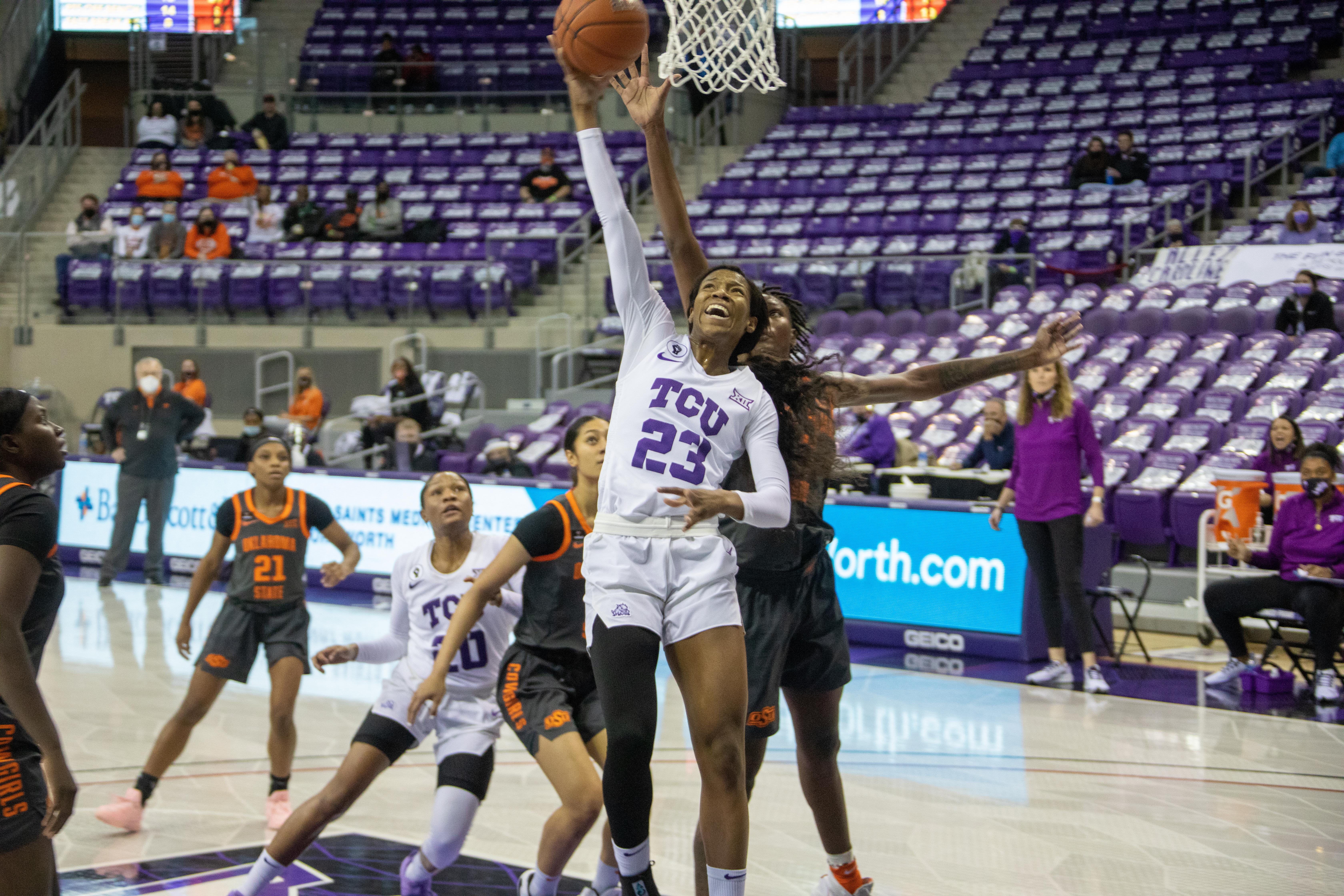 TCU Womens Basketball vs Oklahoma State   Fort Worth, TX (1.6.21)