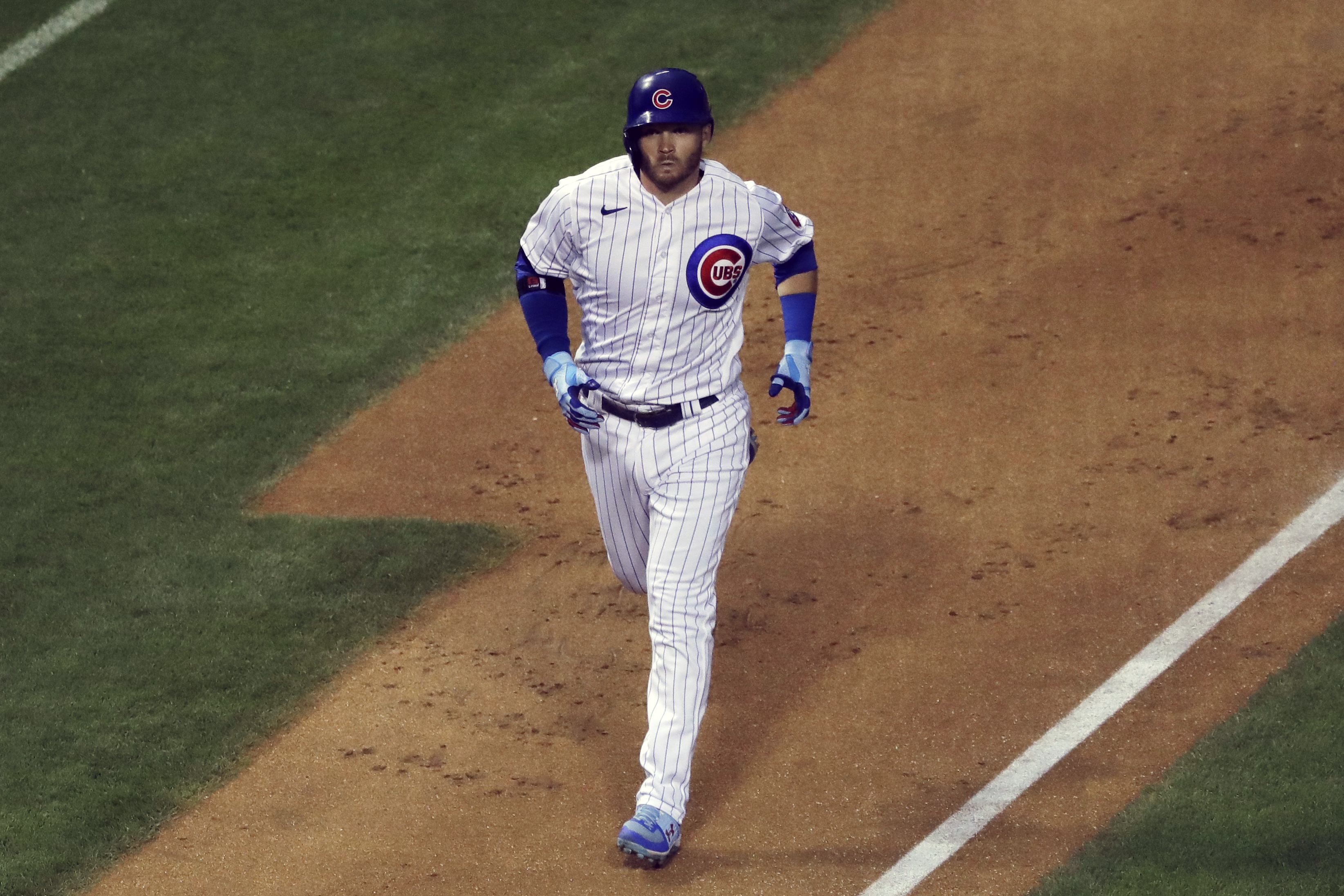 Cubs center fielder will be paid $4.1 million this season after winning his arbitration.