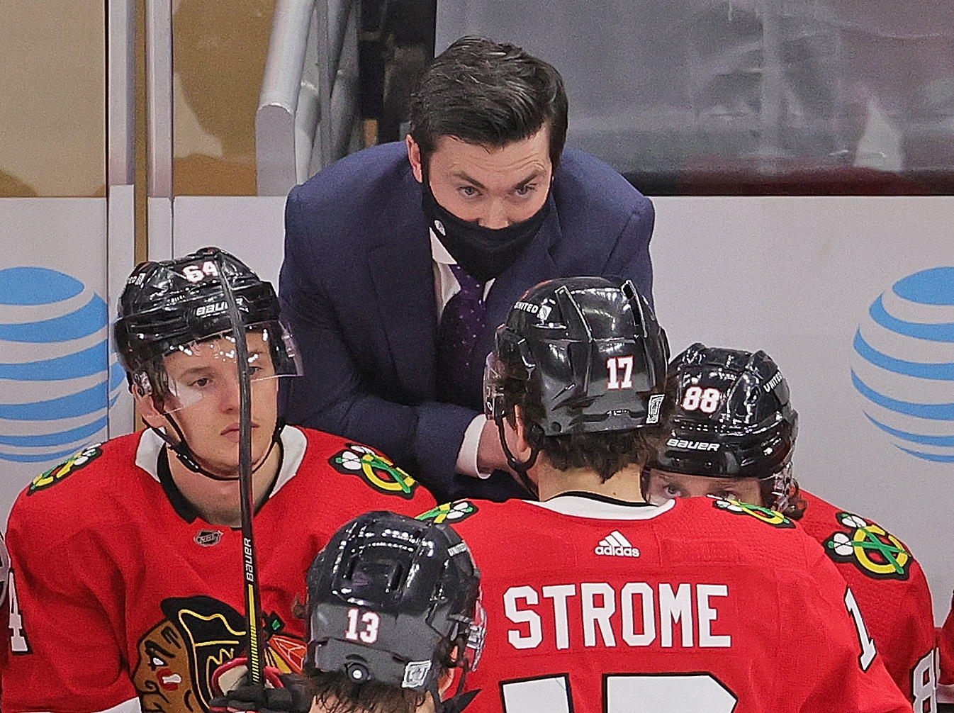 Blackhawks coach Jeremy Colliton appears to be coming into his own.