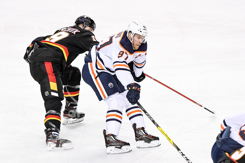NHL: FEB 06 Oilers at Flames
