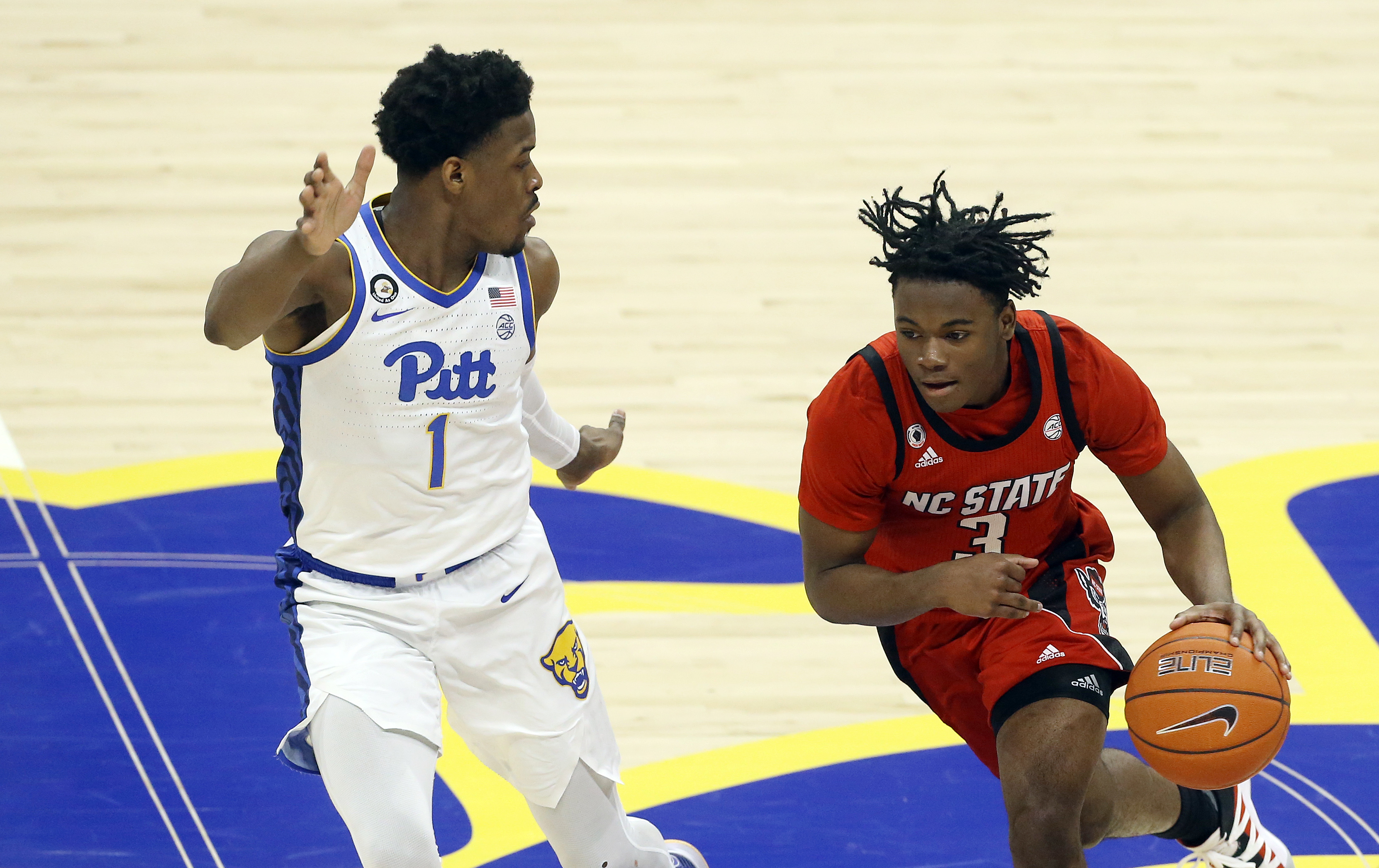 NCAA Basketball: N.C. State at Pittsburgh