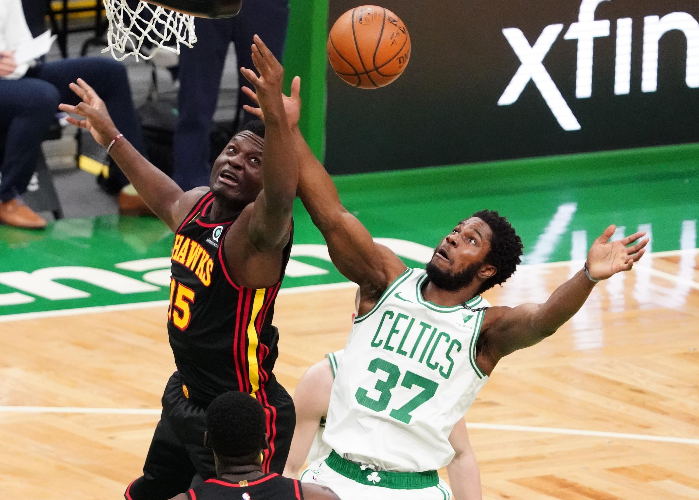 NBA: Atlanta Hawks at Boston Celtics
