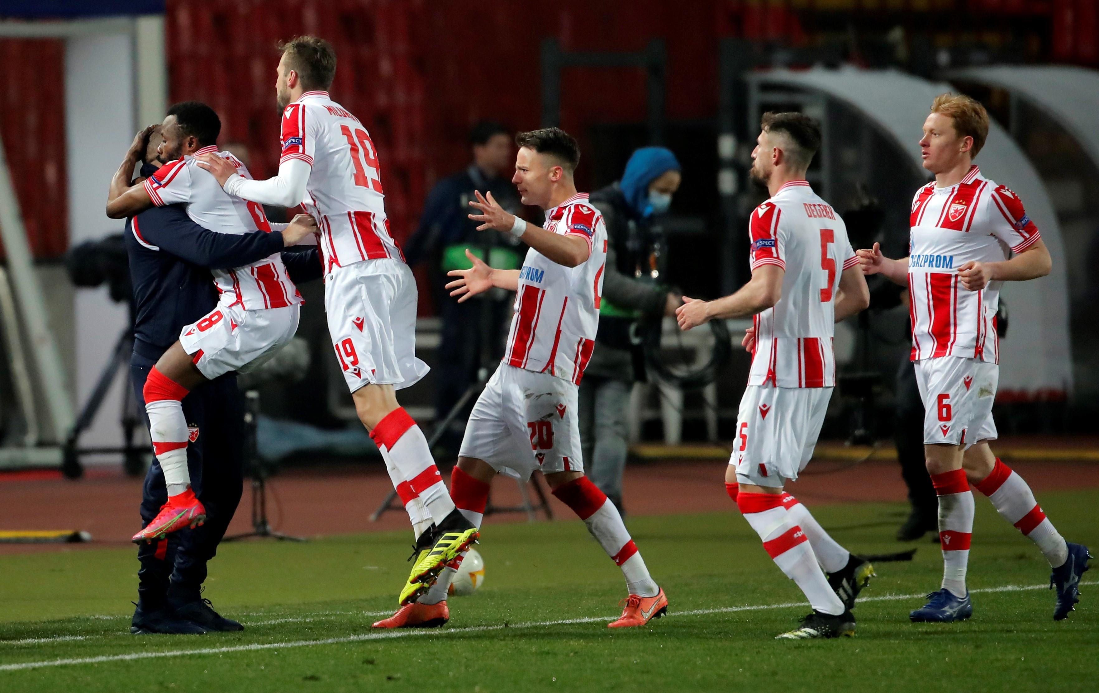 SERBIA-BELGRADE-FOOTBALL-UEFA EUROPA LEAGUE-CRVENA ZVEZDA VS AC MILAN