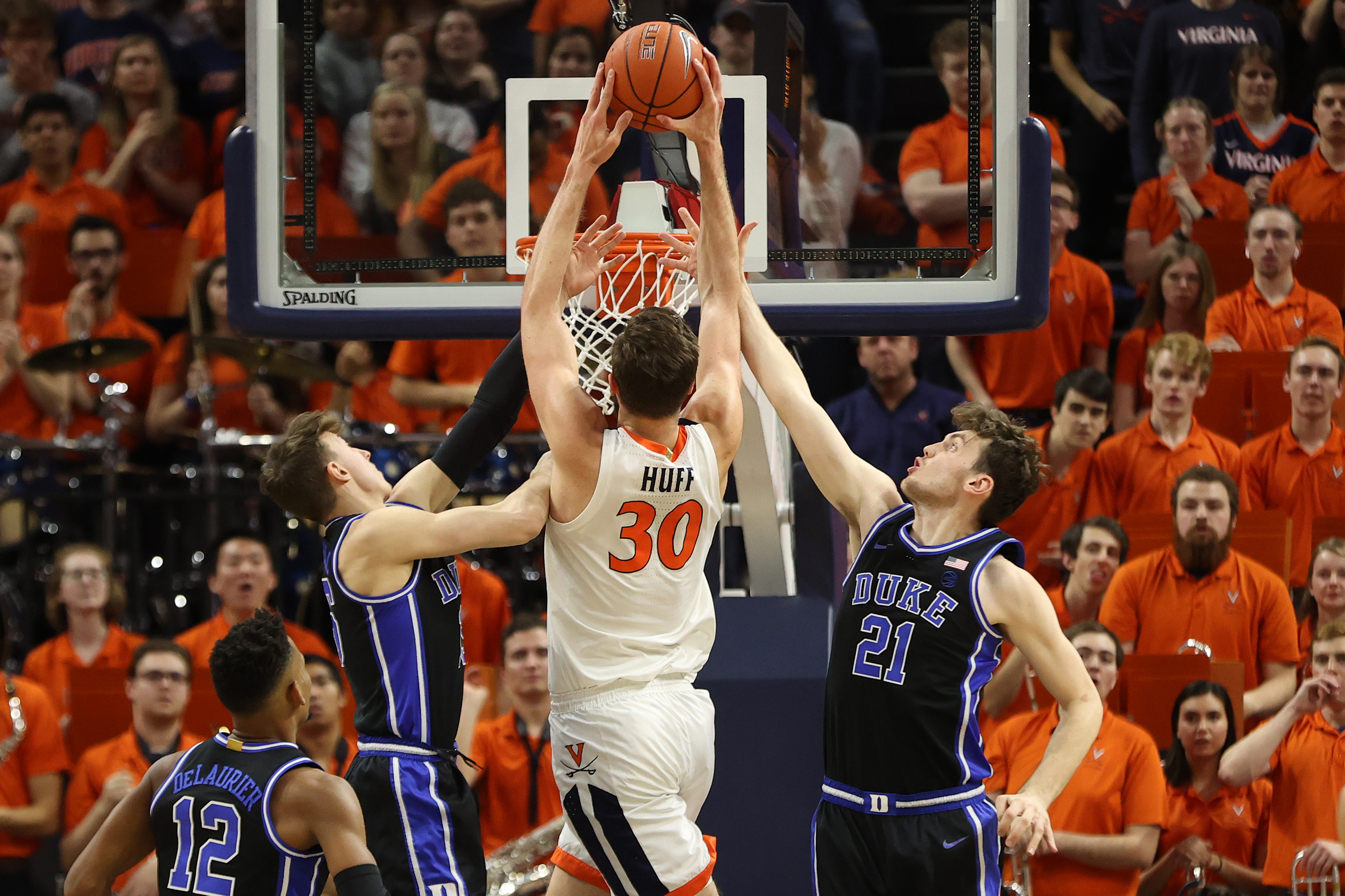 NCAA Basketball: Duke at Virginia