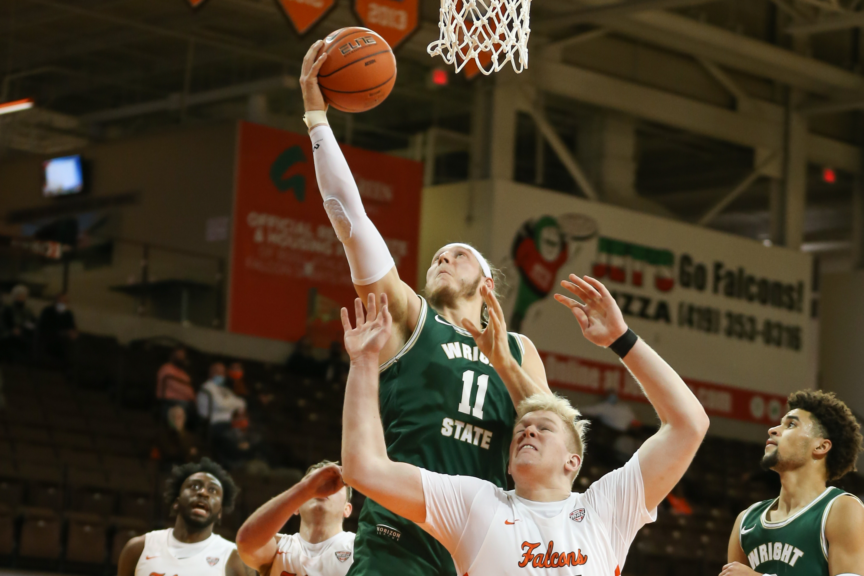 COLLEGE BASKETBALL: DEC 13 Wright State at Bowling Green