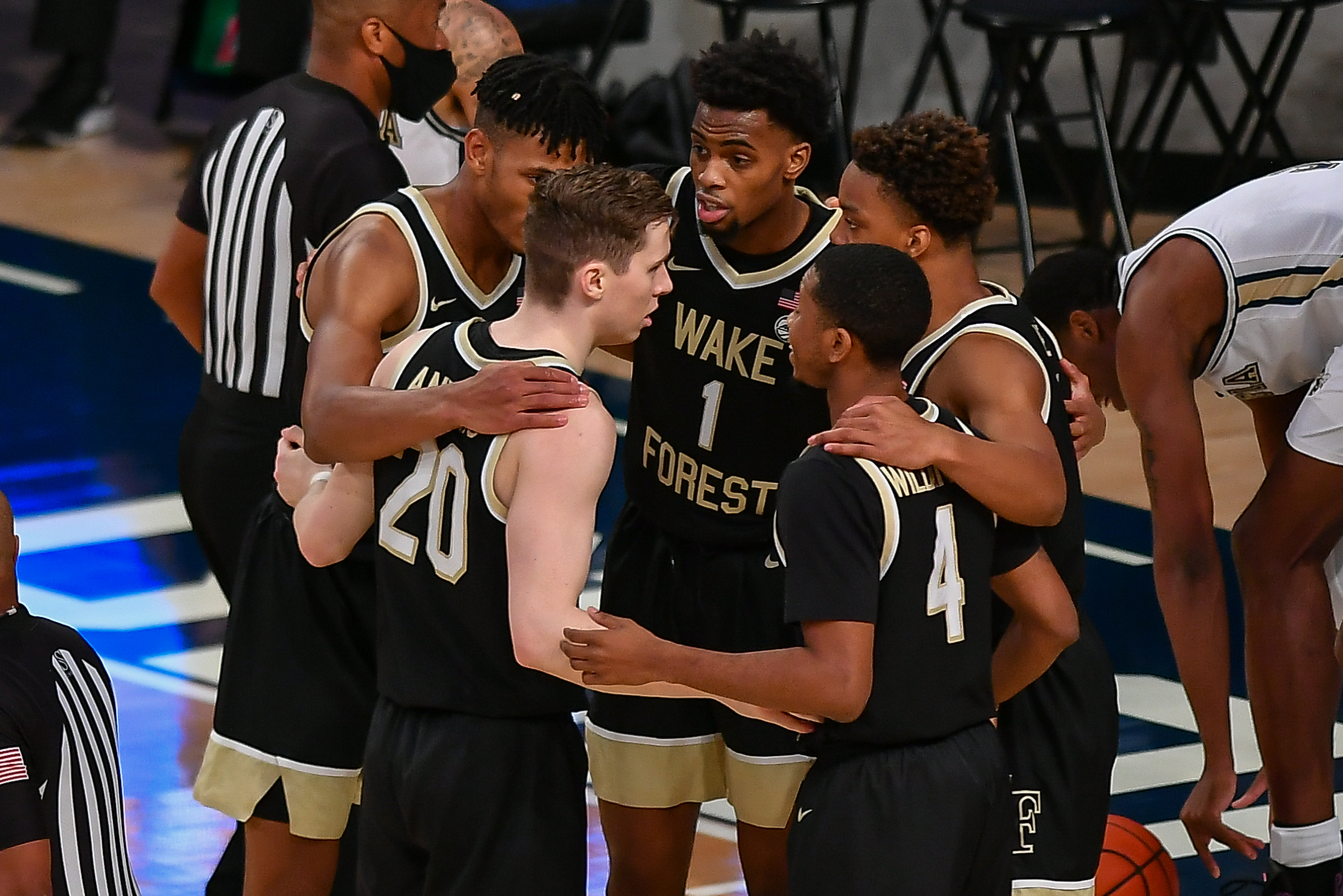 COLLEGE BASKETBALL: JAN 03 Wake Forest at Georgia Tech