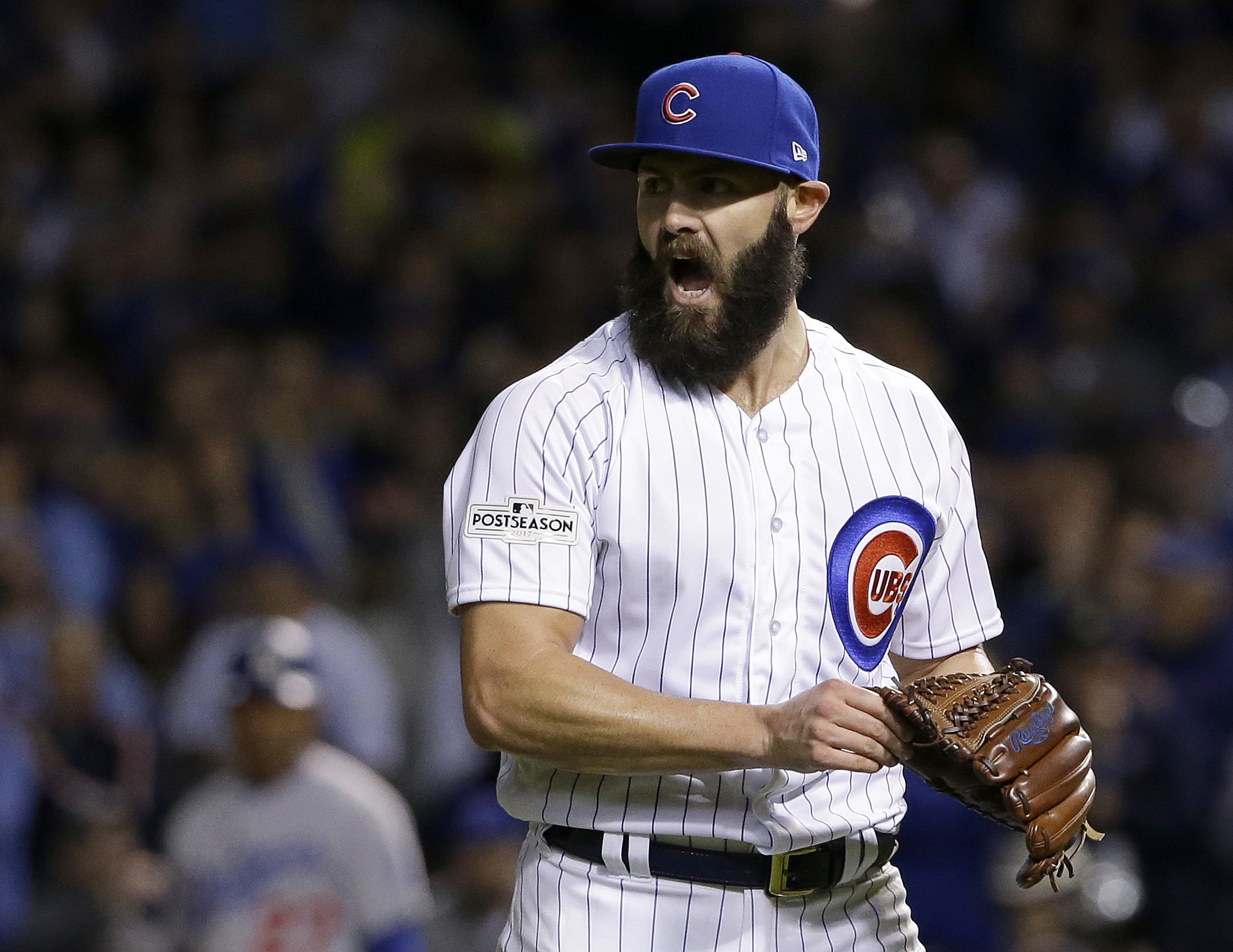 """""""I have seen a shift back toward kind of the foundation of pitching that is establishing down and away, changing speeds and then changing eye level after we've developed the ability to consistently throw down and away,"""" Cubs starter Jake Arrieta said."""