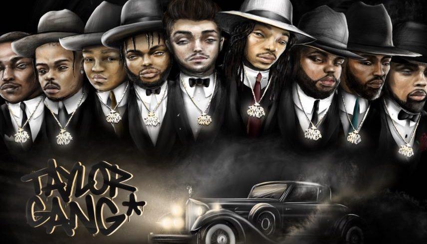 Taylor Gang's 'Taylor Nights' artwork