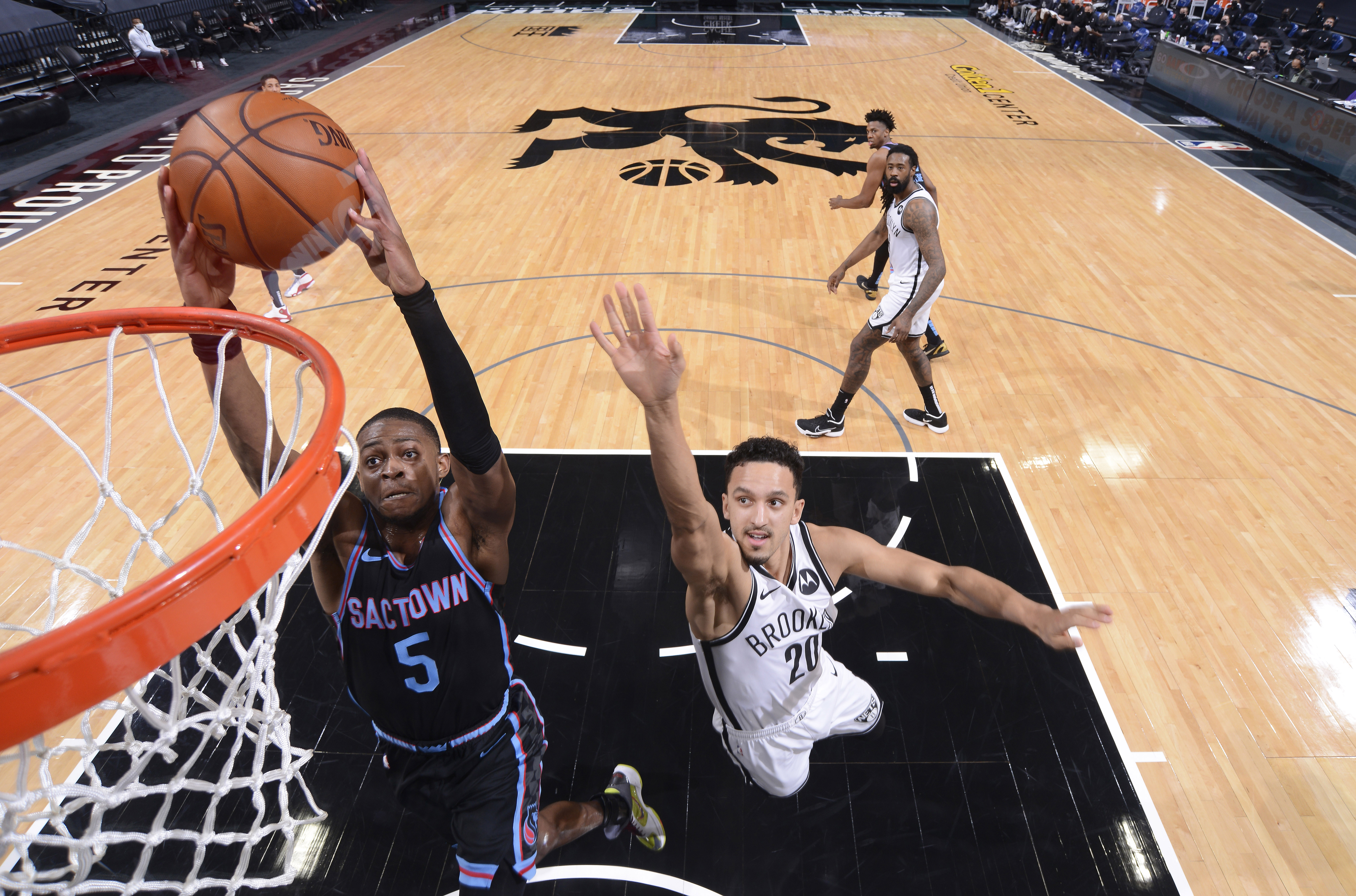 Brooklyn Nets v Sacramento Kings