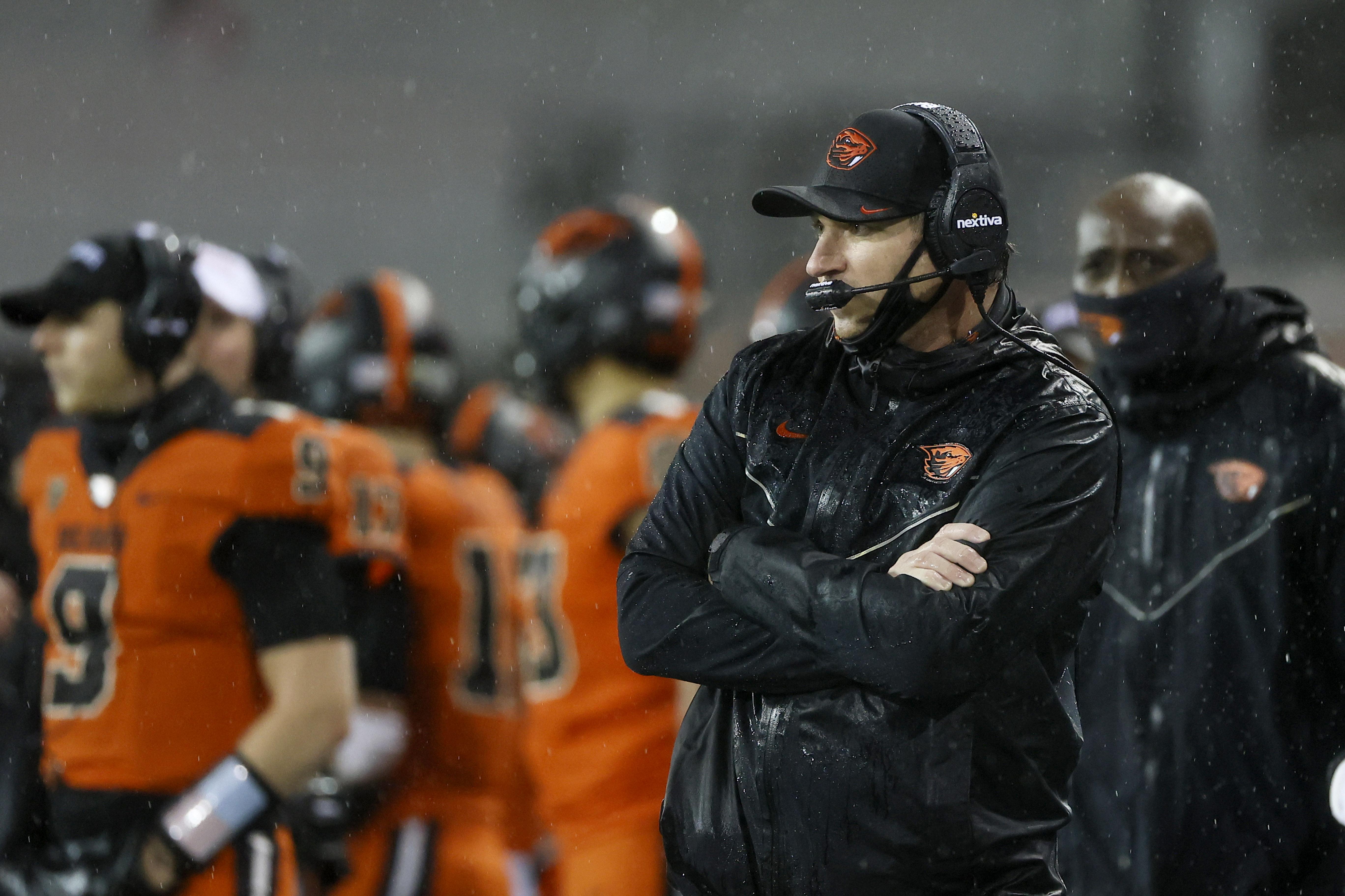 NCAA Football: Arizona State at Oregon State