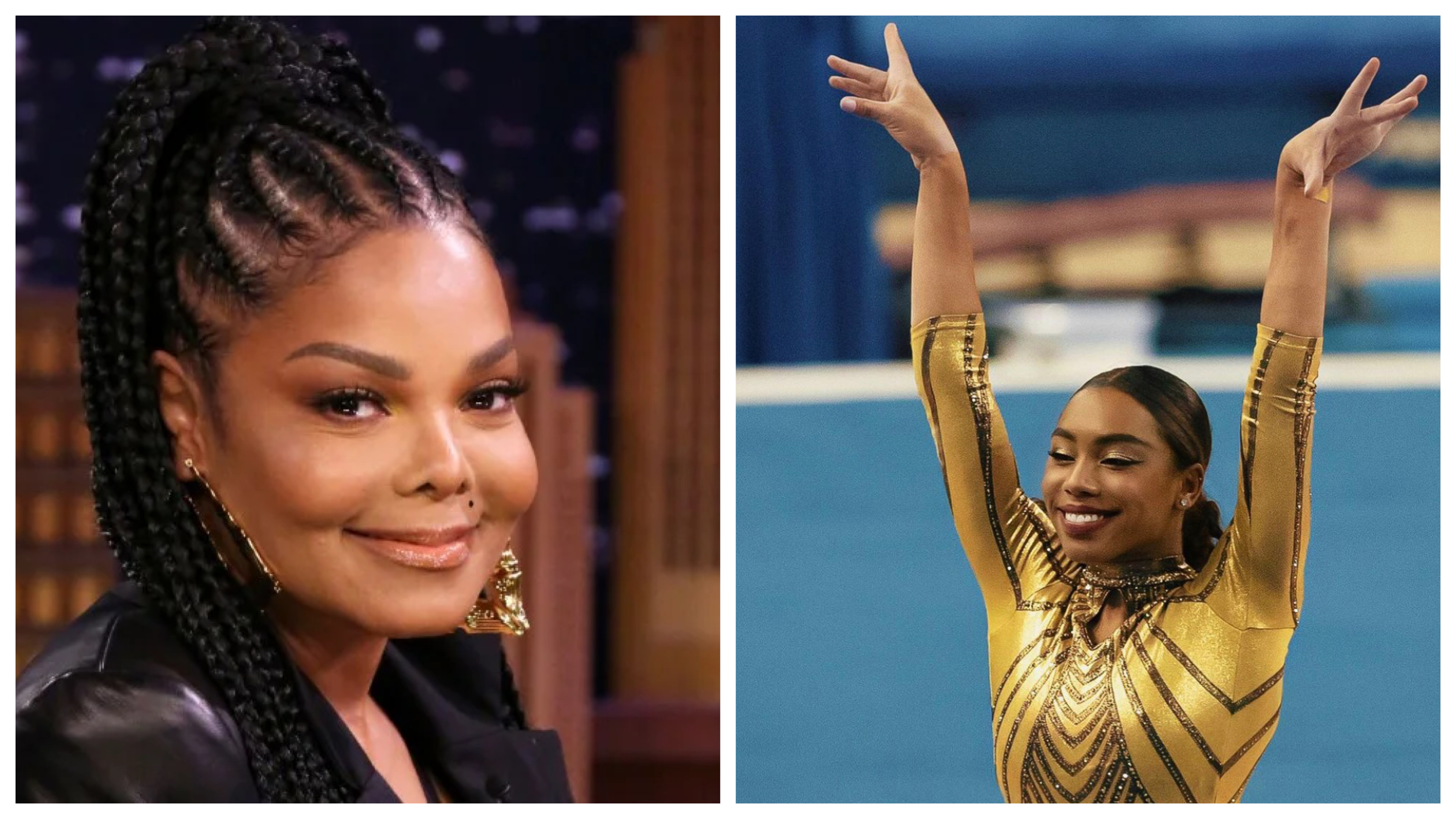 Janet Jackson and Margzetta Frazier