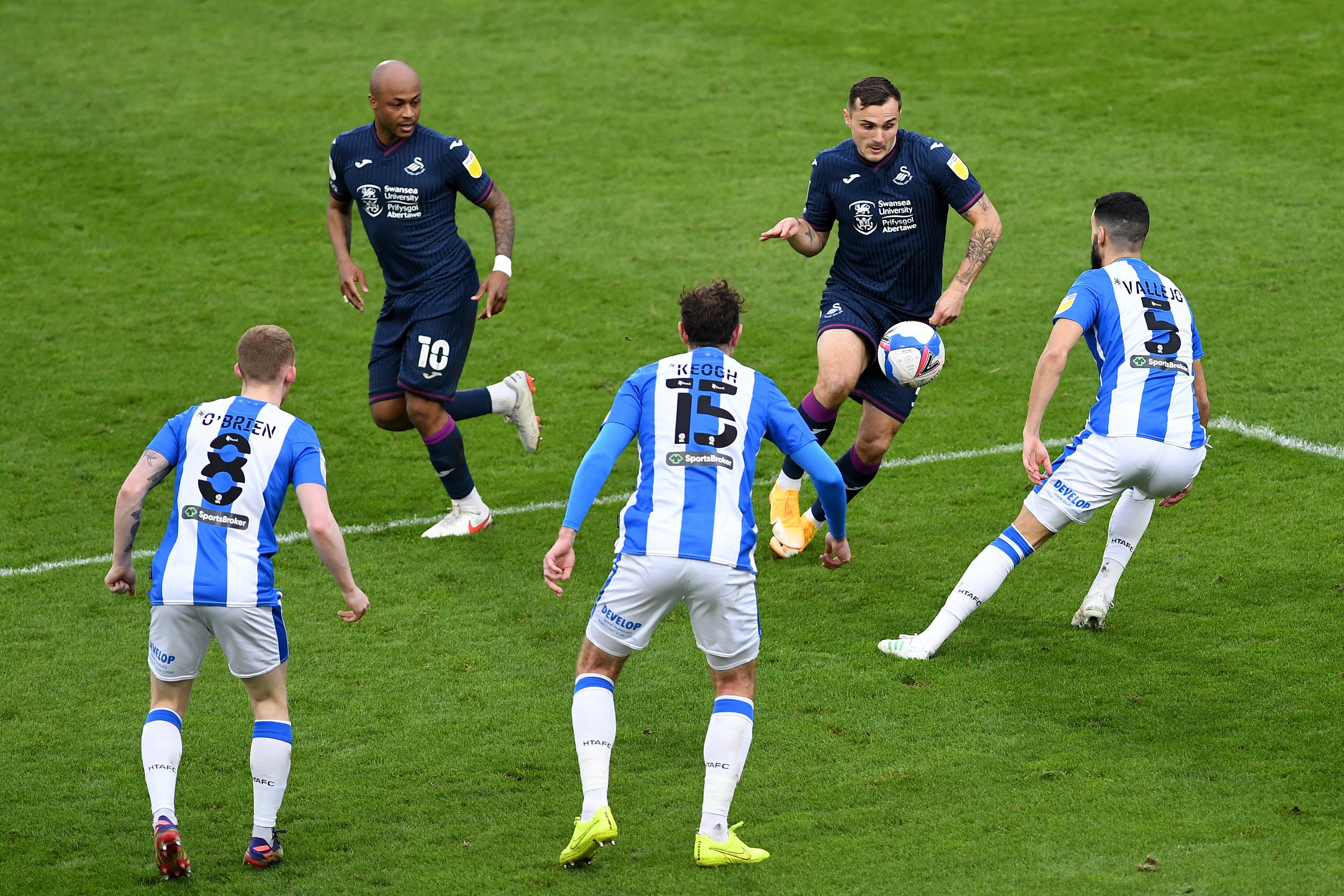 Huddersfield Town V Swansea City  -  Sky Bet Championship
