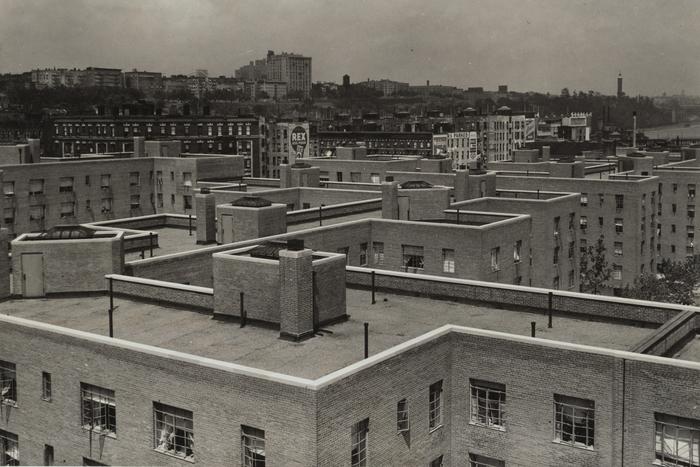 The Harlem River Houses circa 1938.