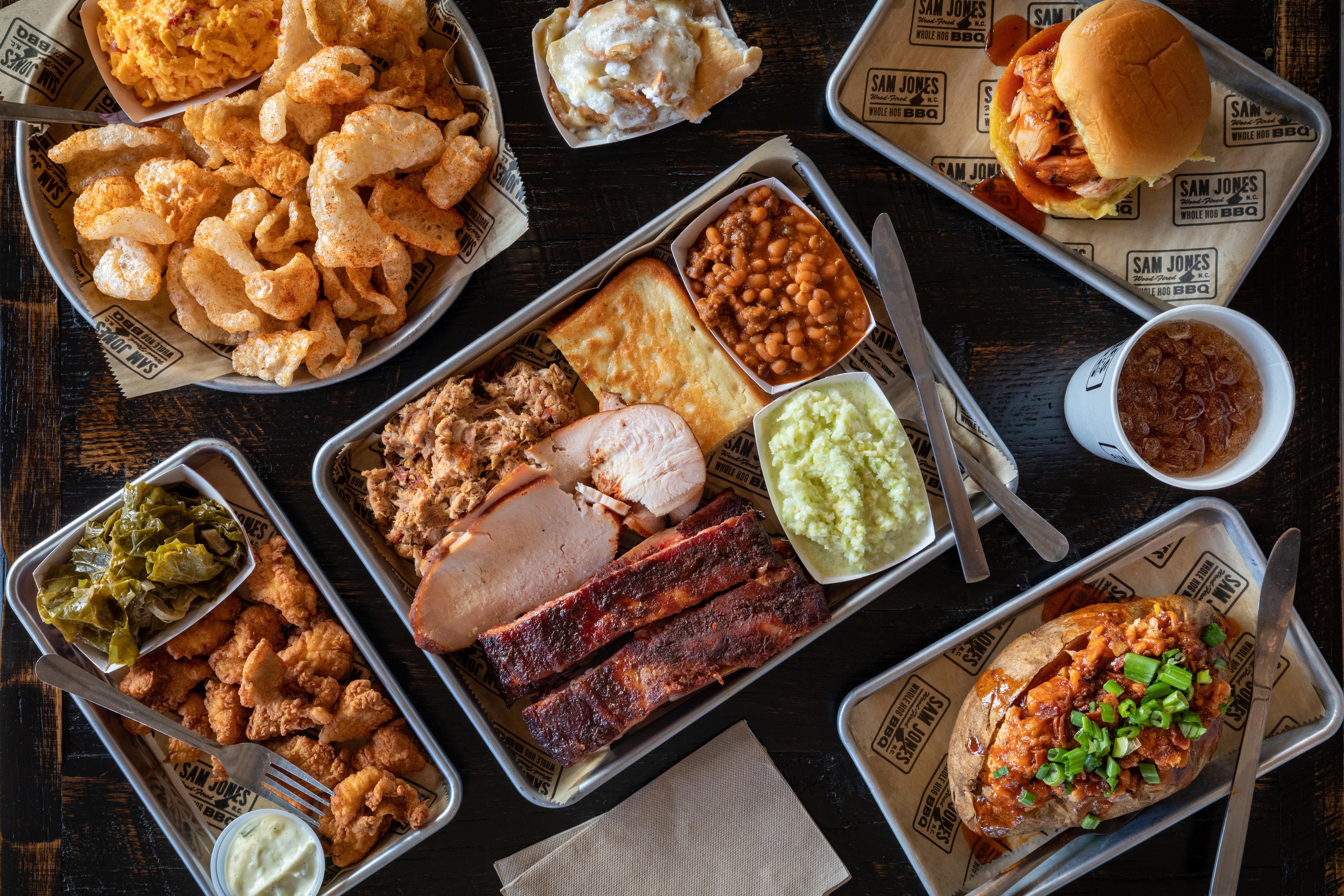 Sam Jones BBQ for Eater Carolinas