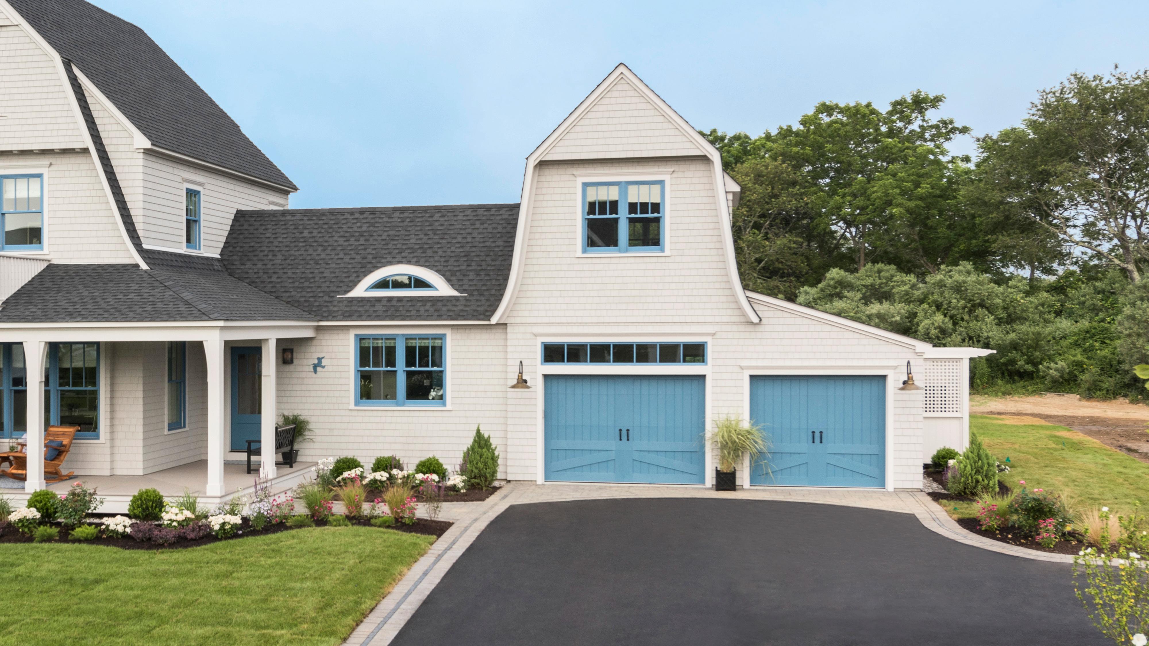 Spring 2021, Reno Planner: Garage Door Smarts, Idea House garage doors