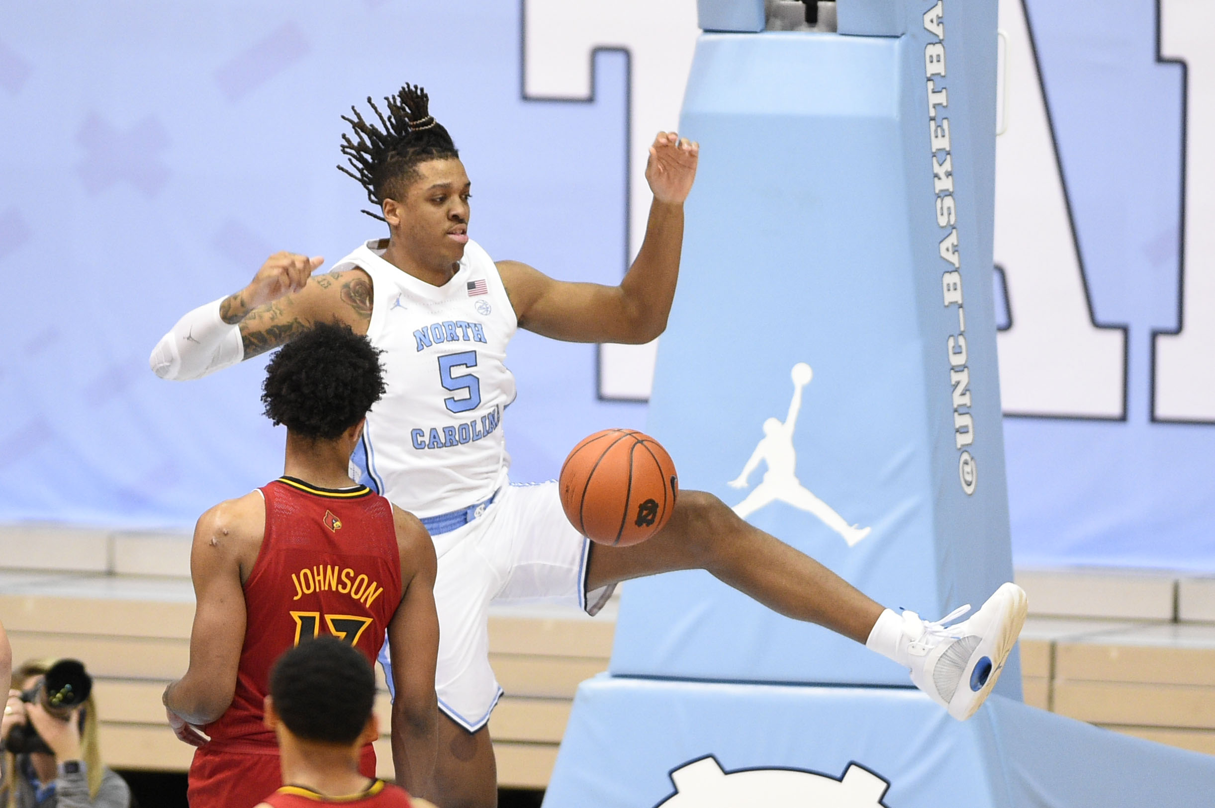 NCAA Basketball: Louisville at North Carolina