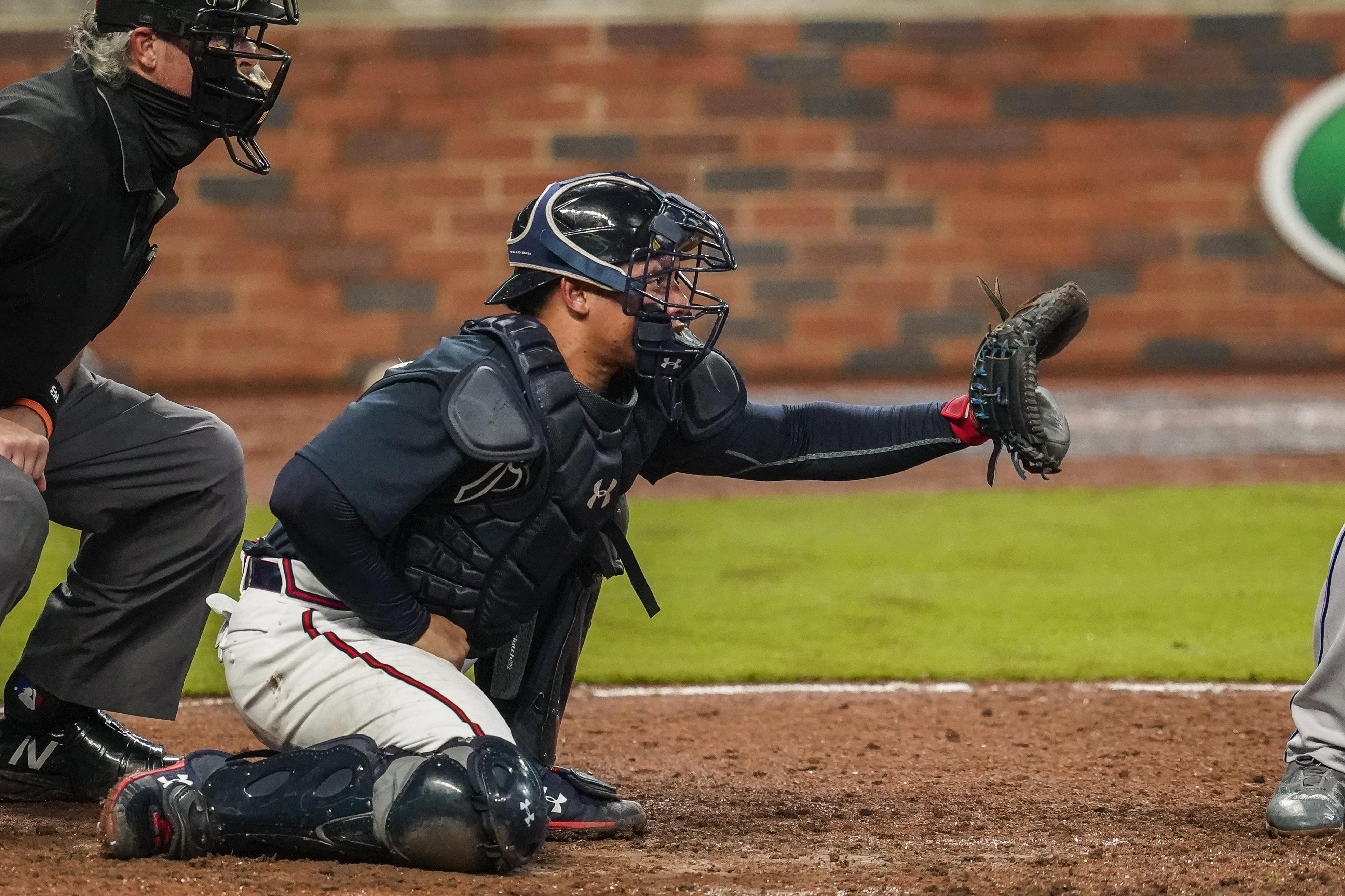 MLB: Exhibition-Miami Marlins at Atlanta Braves