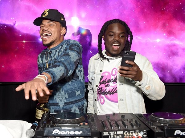 Chance The Rapper and DJ Oreo