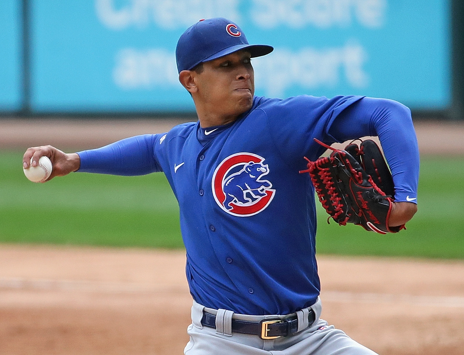 """""""I'm pretty confident,"""" Cubs pitcher Adbert Alzolay said. """"I feel like you, as a professional, you prepare for these moments, because these are the moments that you want to come in your career."""""""