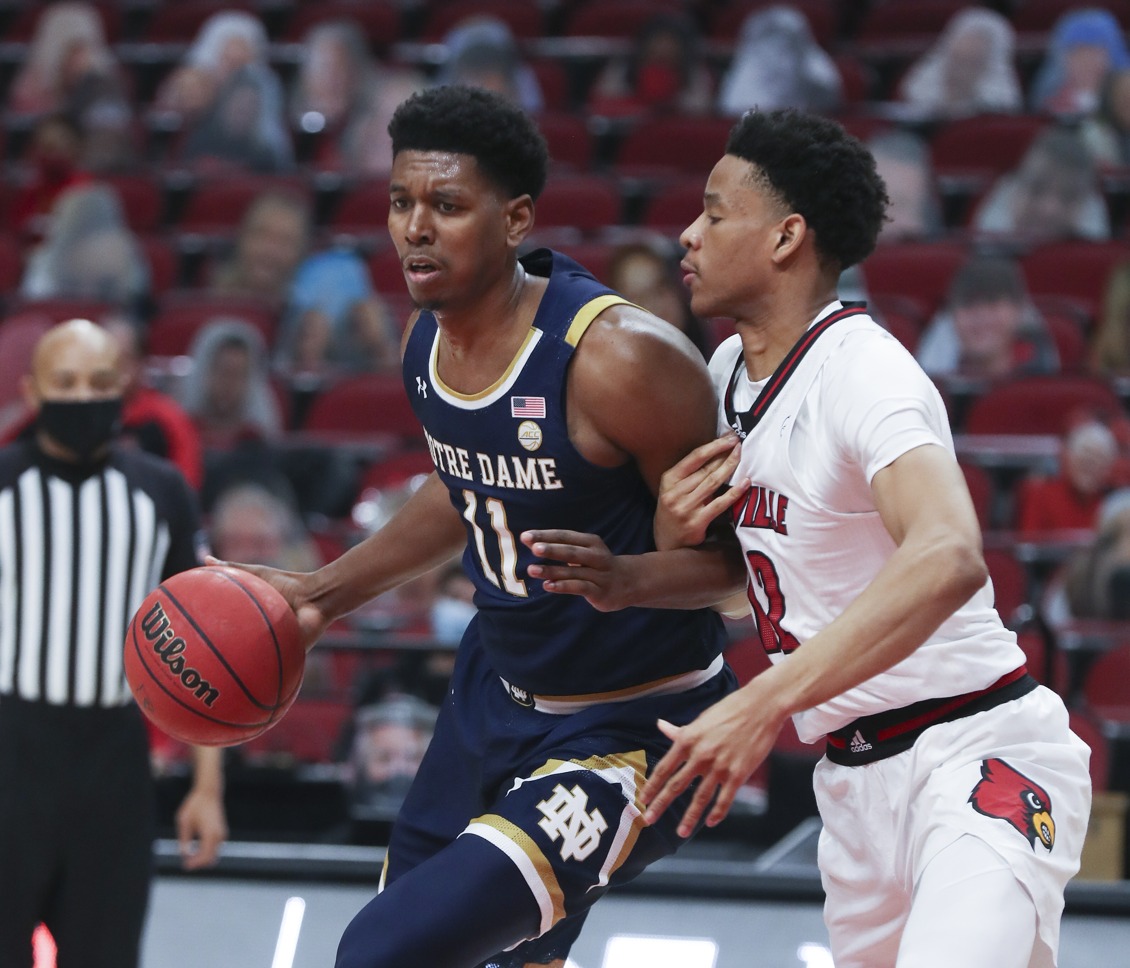 NCAA Basketball: Notre Dame at Louisville