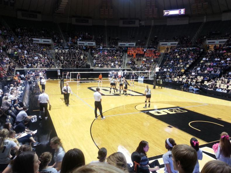 Purdue vs Illinois in Mackey