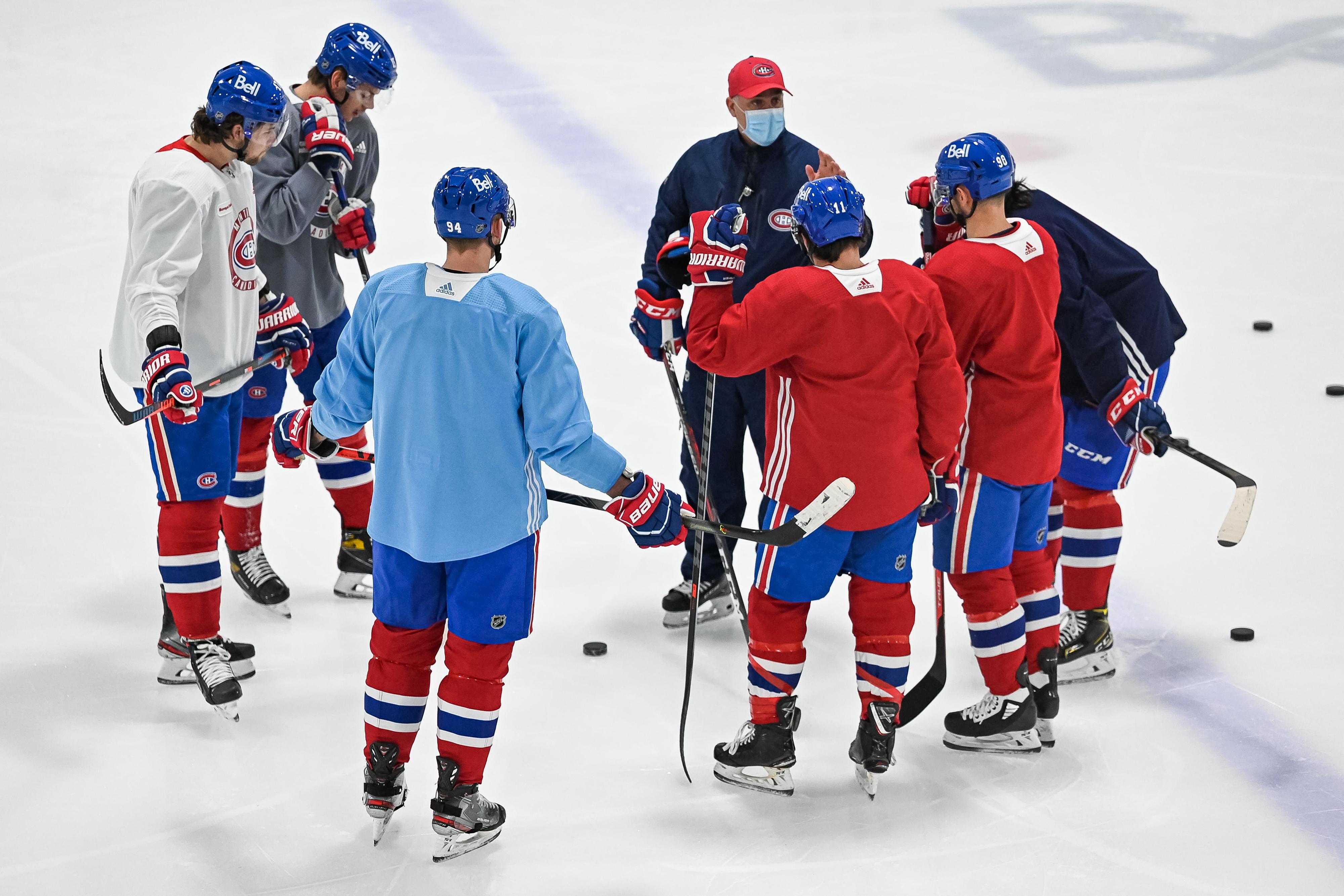 NHL: JAN 09 Canadiens Training Camp