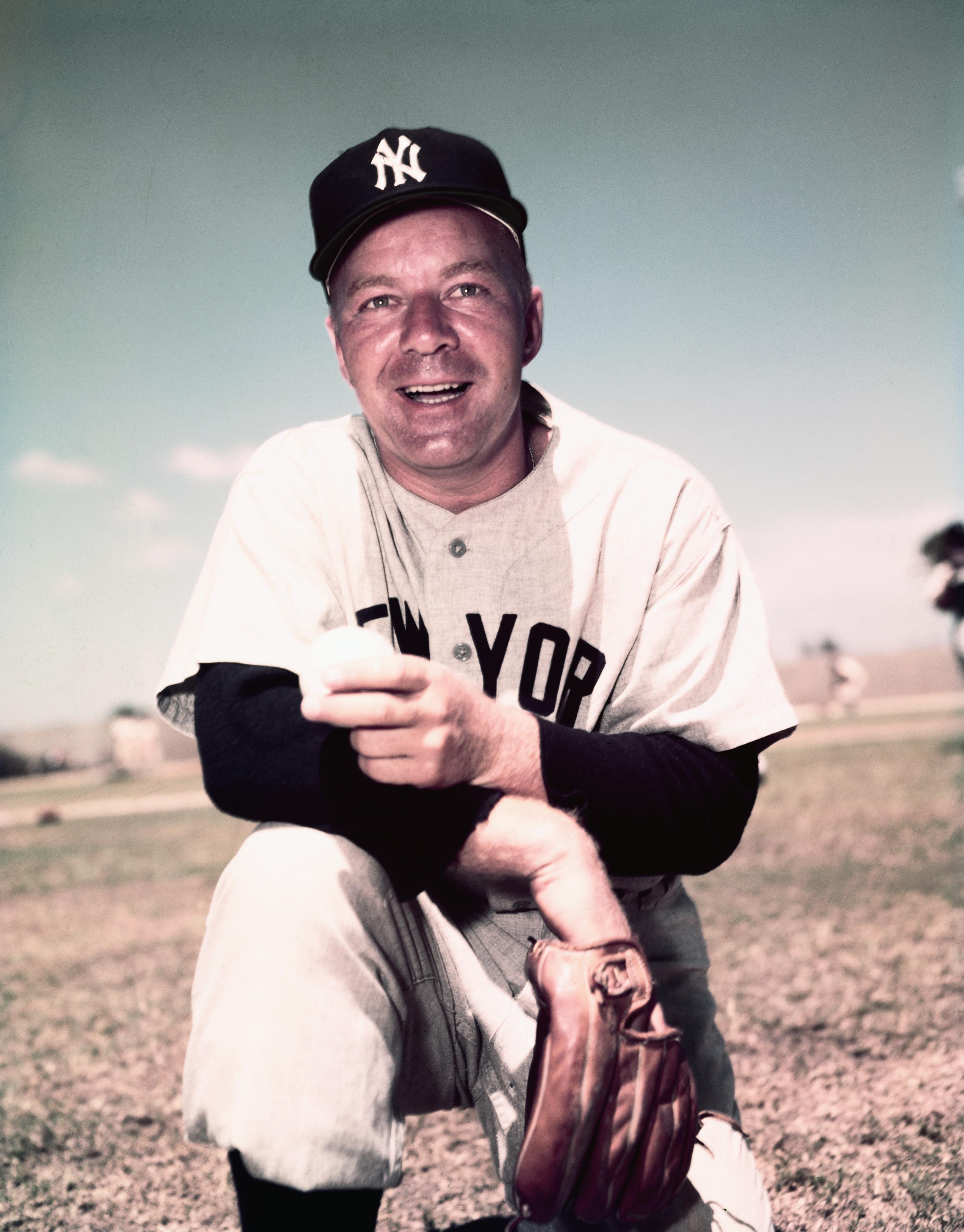 Portrait of Baseball Player Ed Lopat