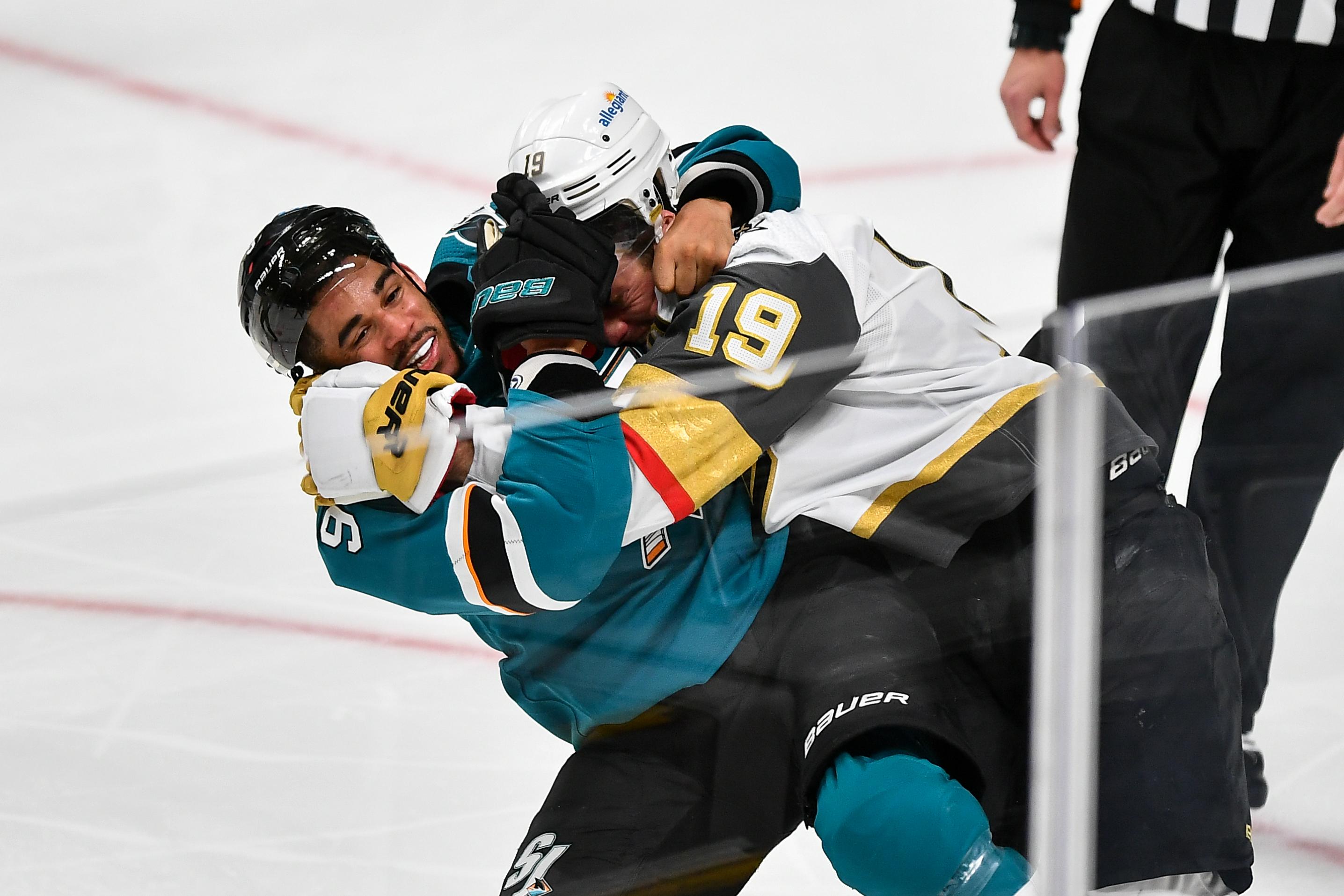 NHL: Vegas at San Jose Sharks