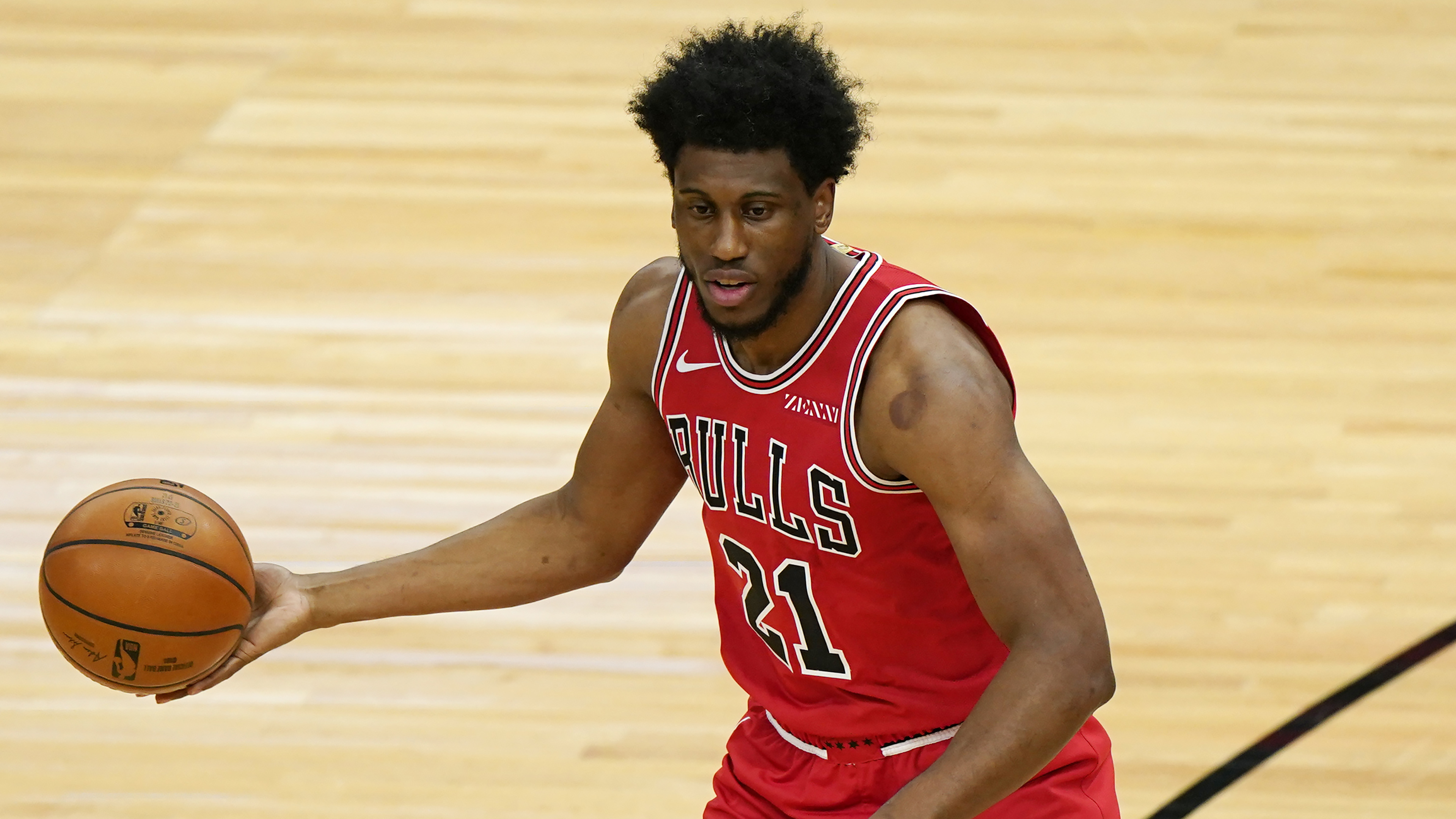"Bulls forward Thad Young sees April as ""take care of business'' month."