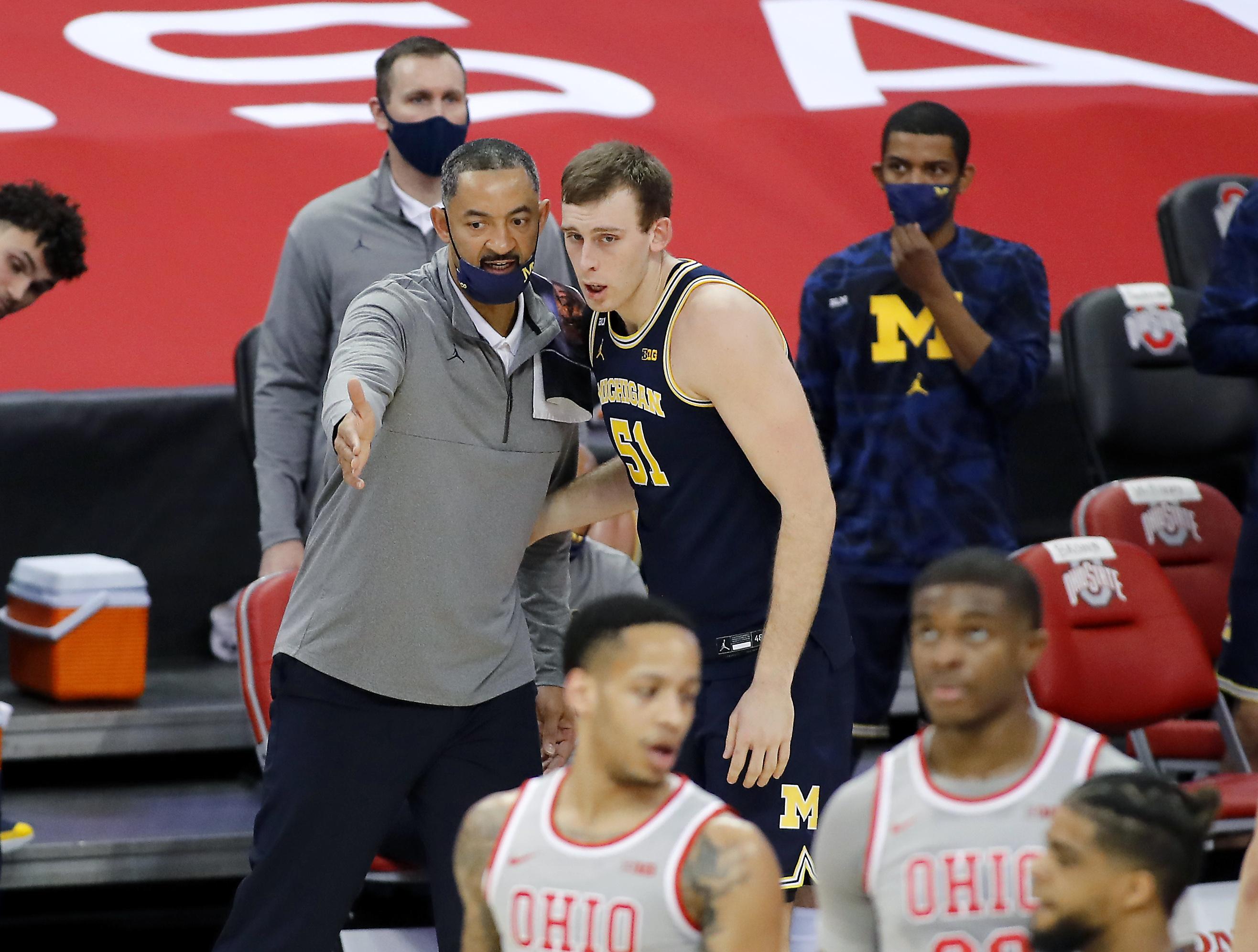 NCAA Basketball: Michigan at Ohio State