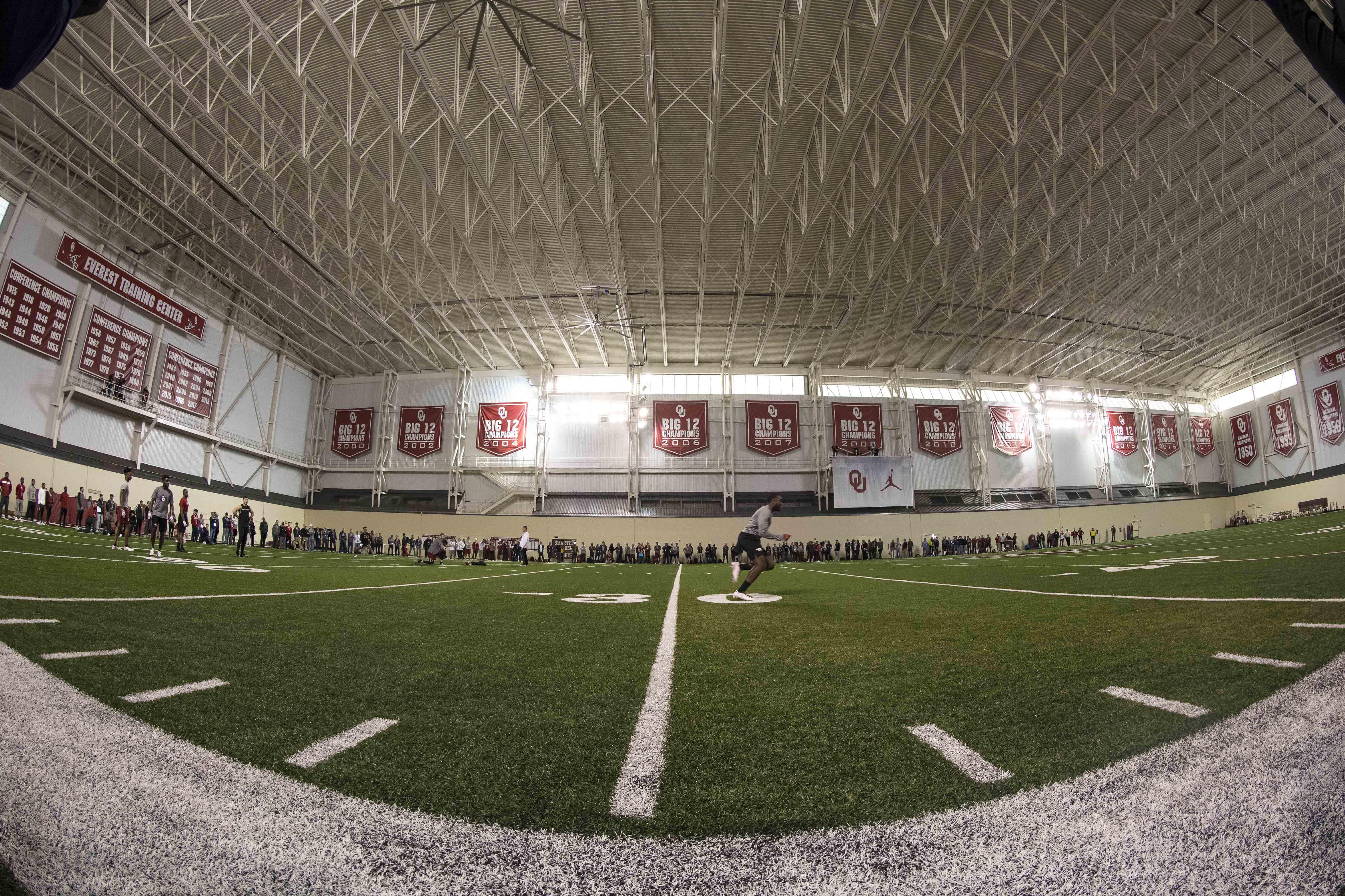 NCAA Football: Oklahoma Pro Day
