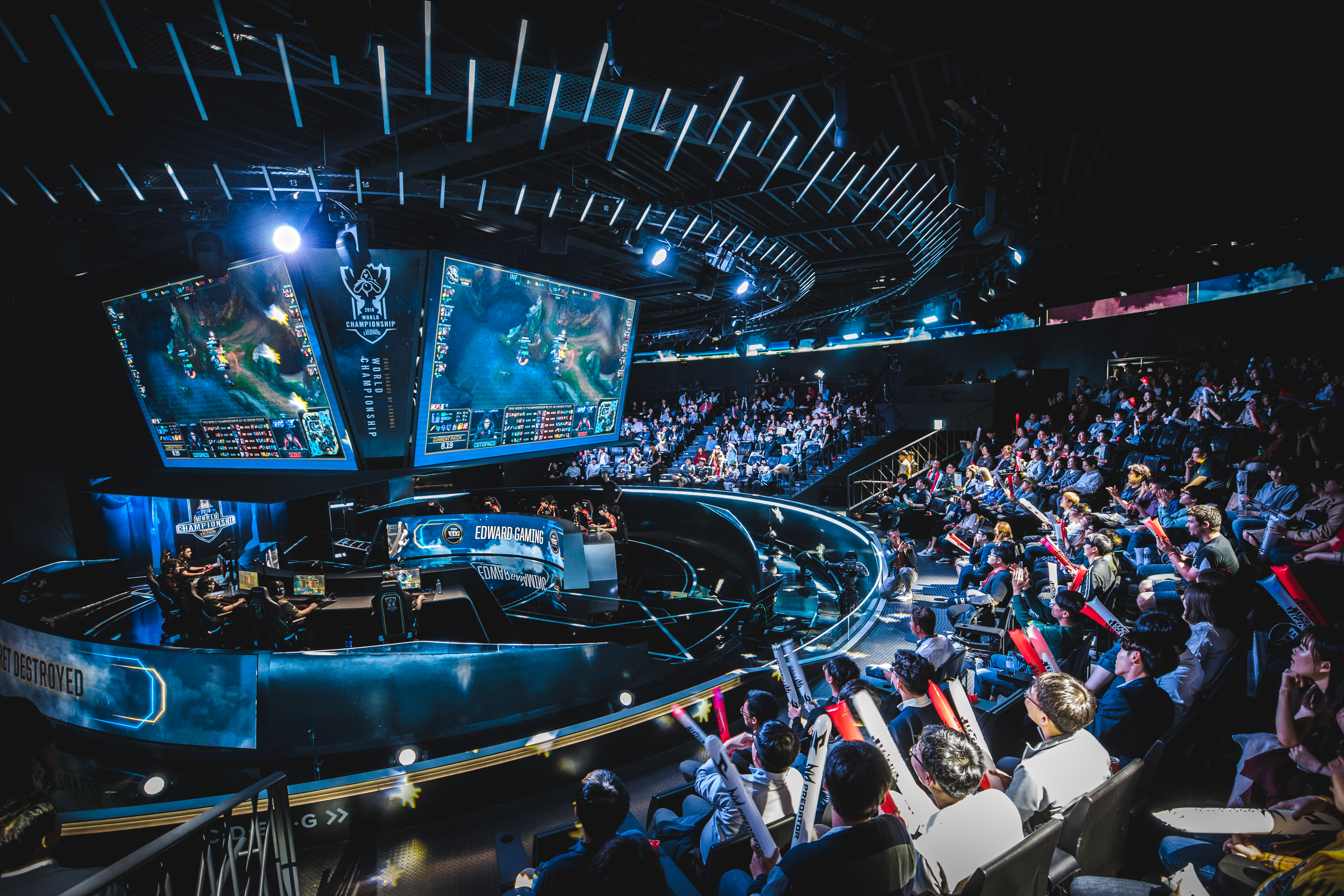 2018 Worlds Play-In Day 4