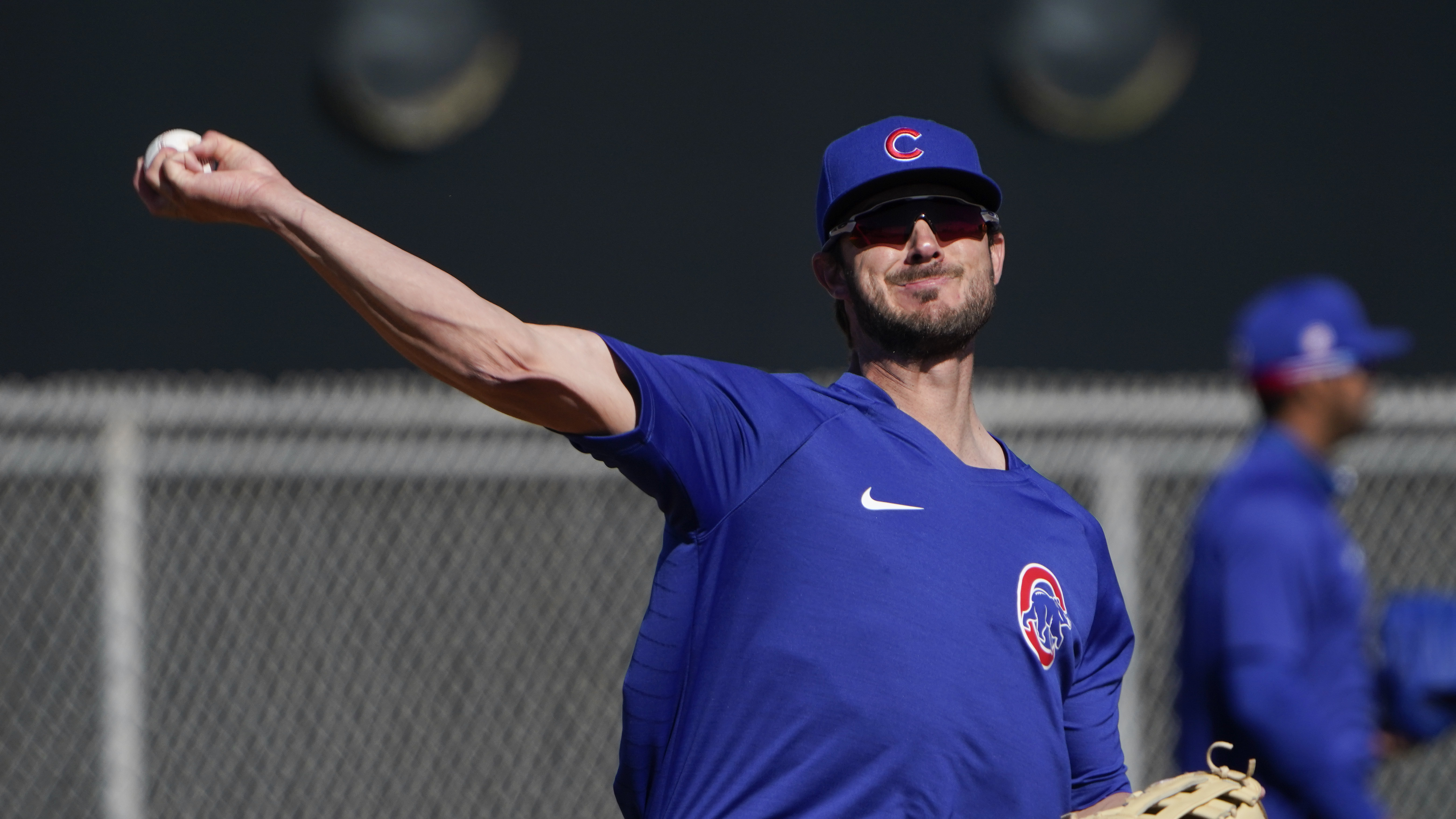 """""""I've always said I'm open and willing to hear whatever Jed [Hoyer] now has to say"""" about a long-term deal, the Cubs' Kris Bryant said."""