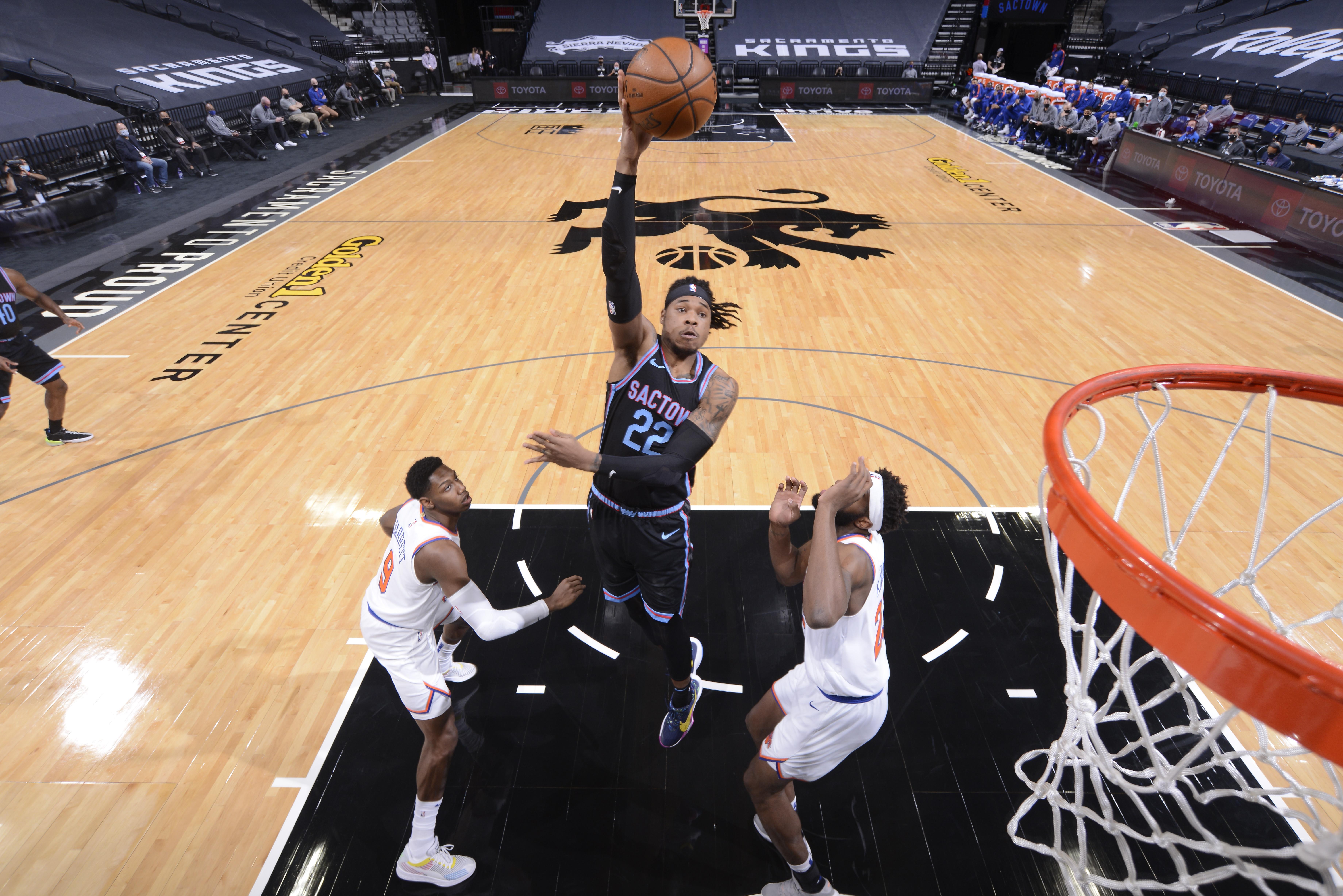 New York Knicks v Sacramento Kings