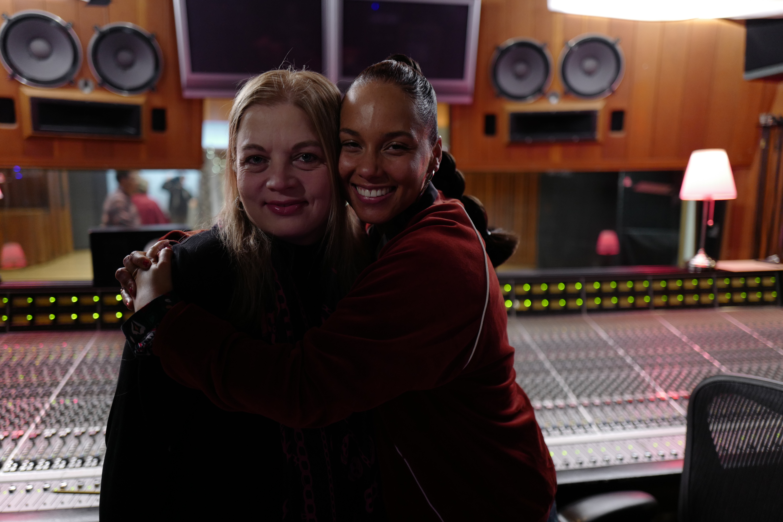 Ann Mincieli and Alicia Keys
