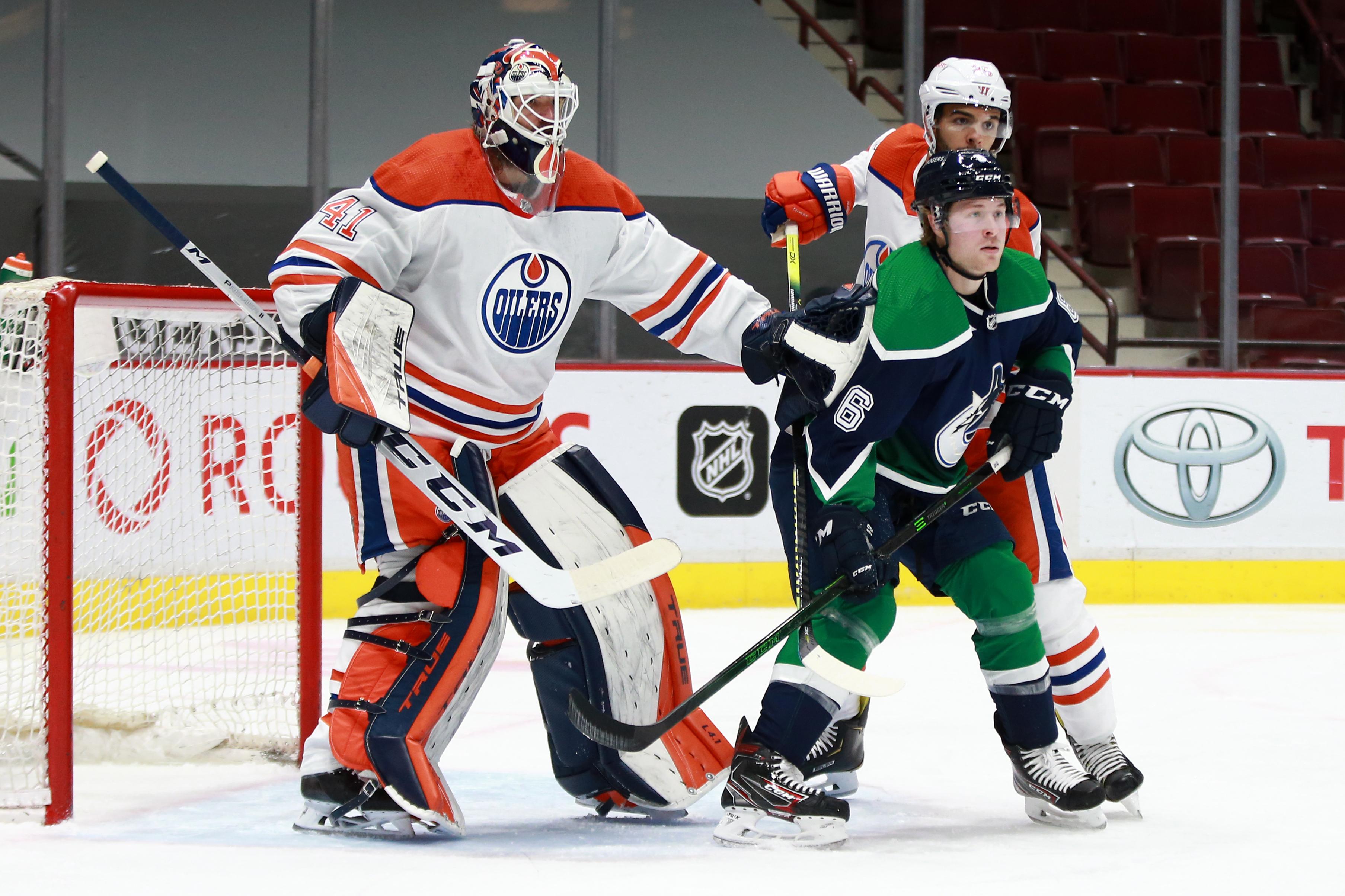 NHL: FEB 23 Oilers at Canucks