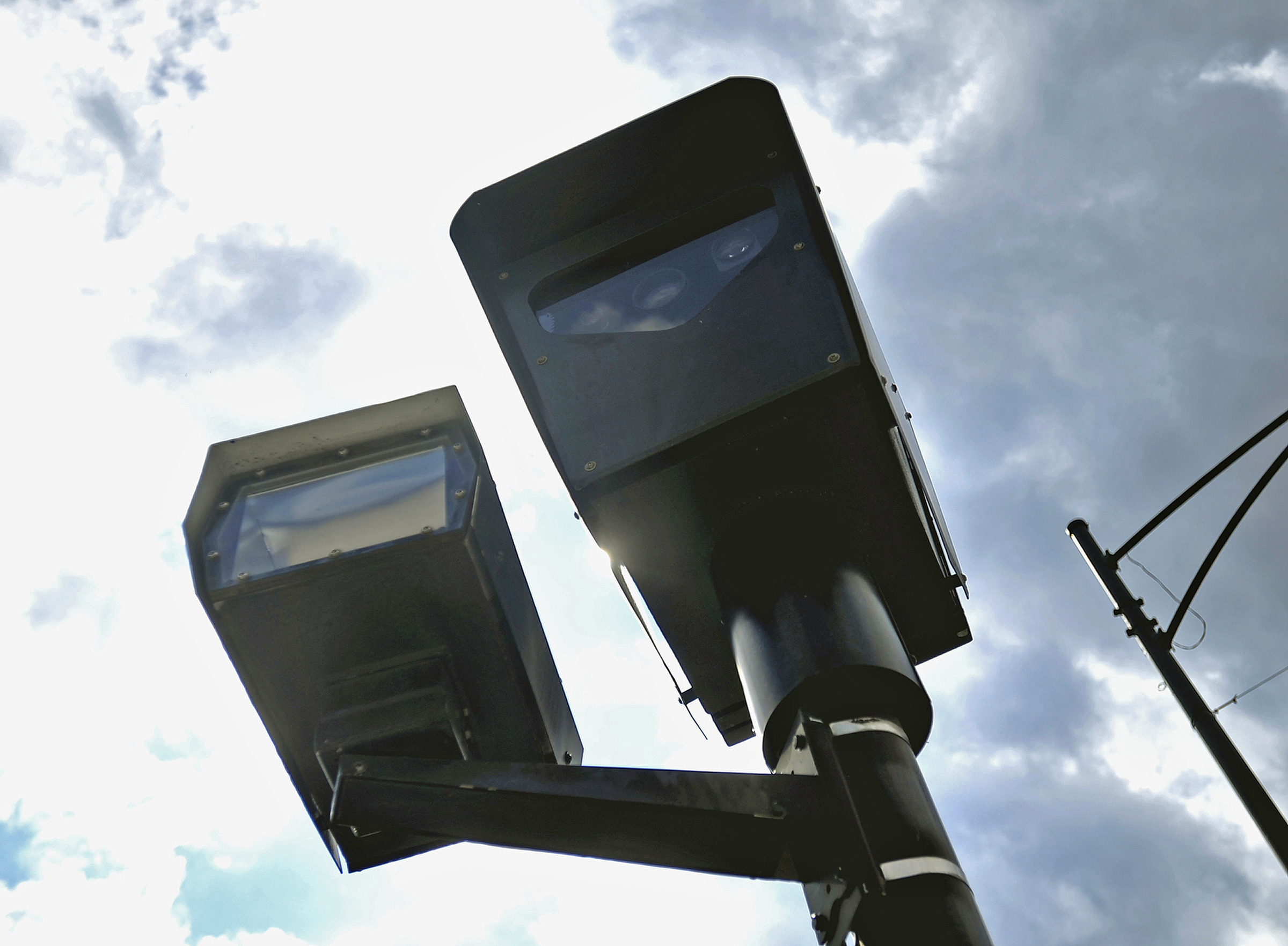 Cameras at 63rd Street and Western Avenue on Wednesday, April 18, 2012.