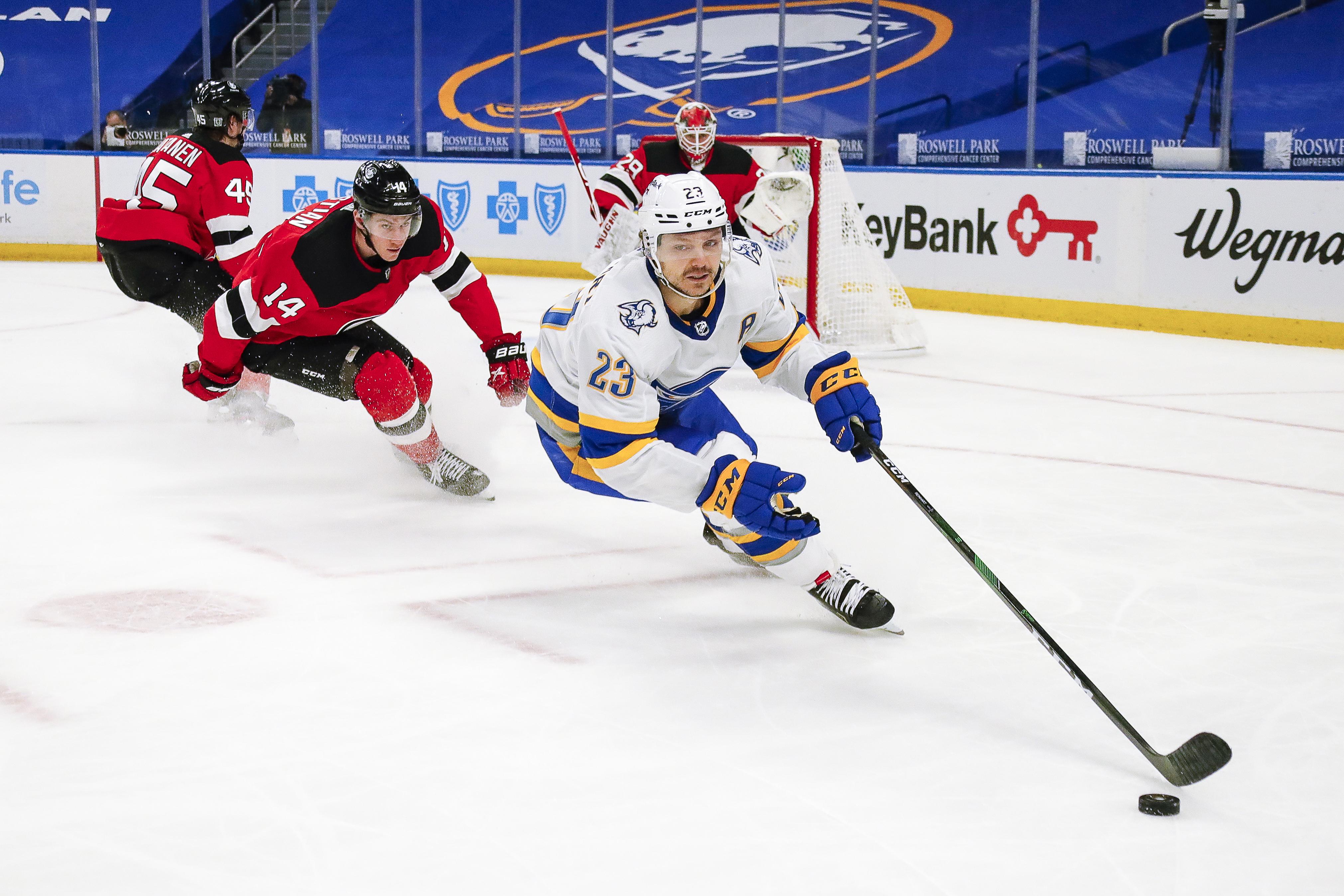 NHL: FEB 25 Devils at Sabres