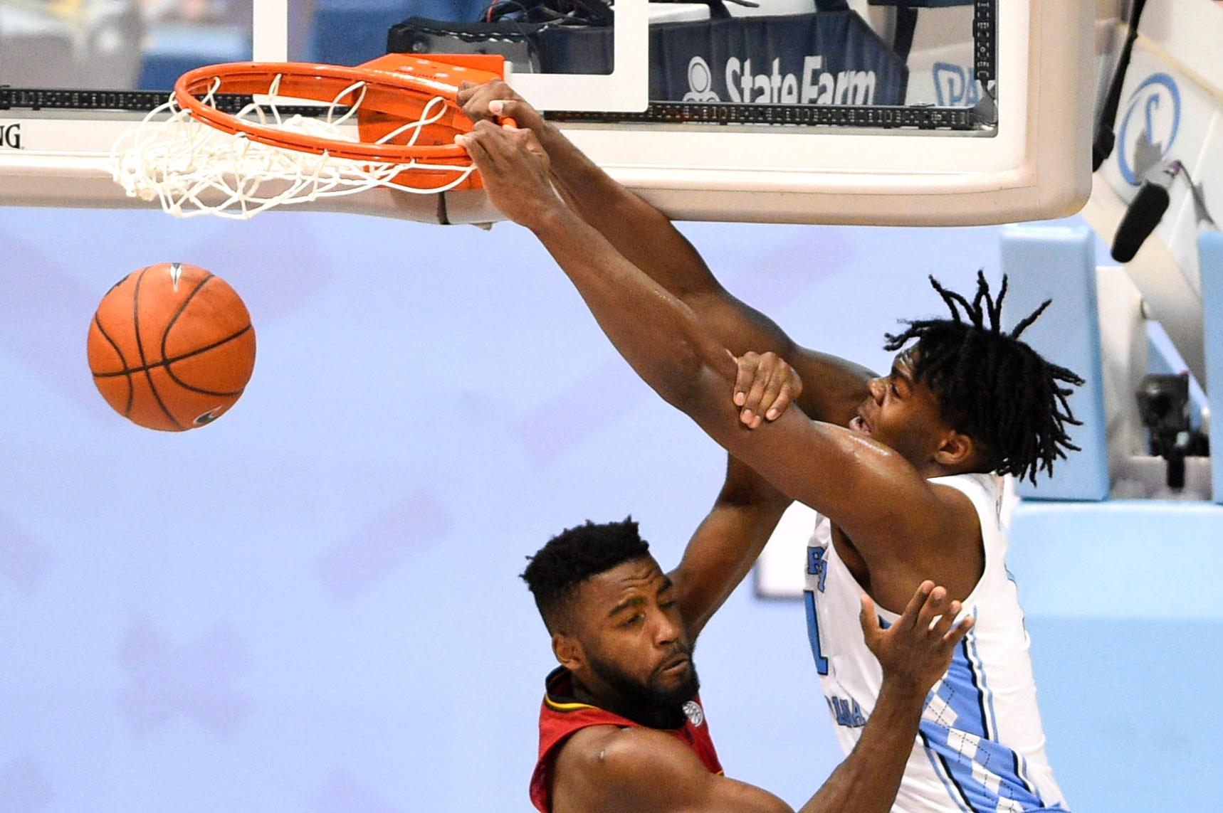 NCAA Basketball: Louisville at North Carolina