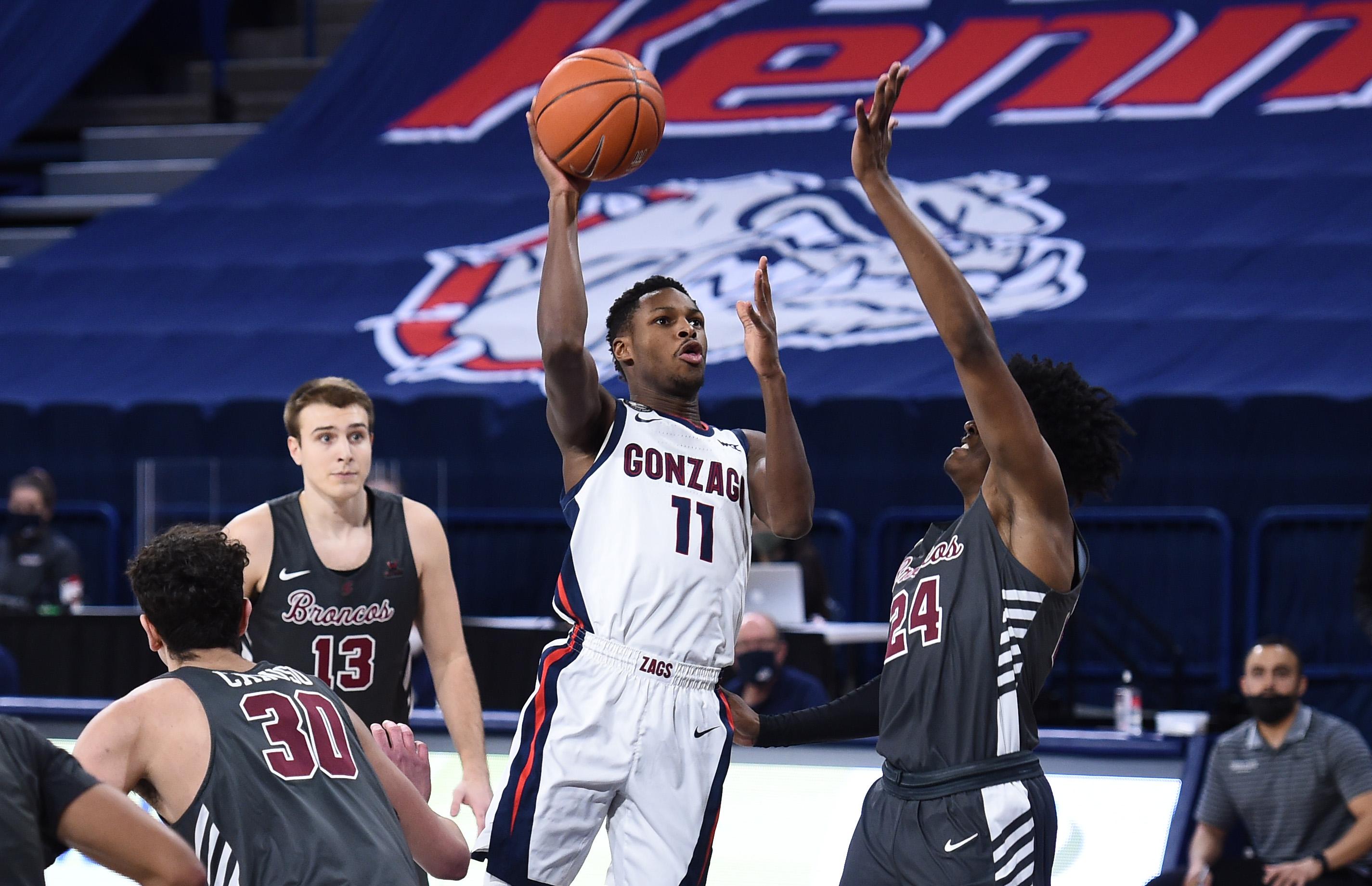 NCAA Basketball: Santa Clara at Gonzaga