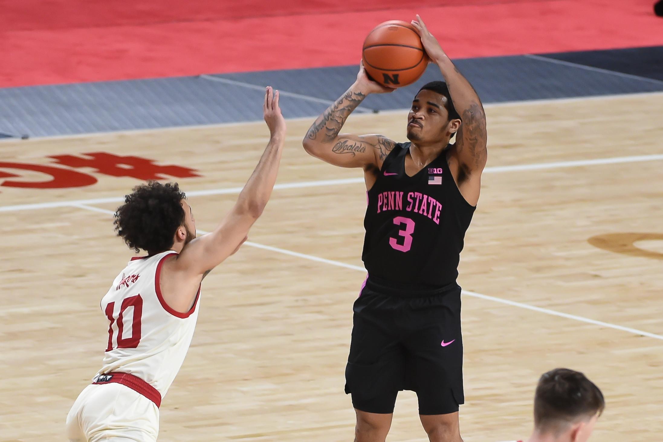 NCAA Basketball: Penn State at Nebraska