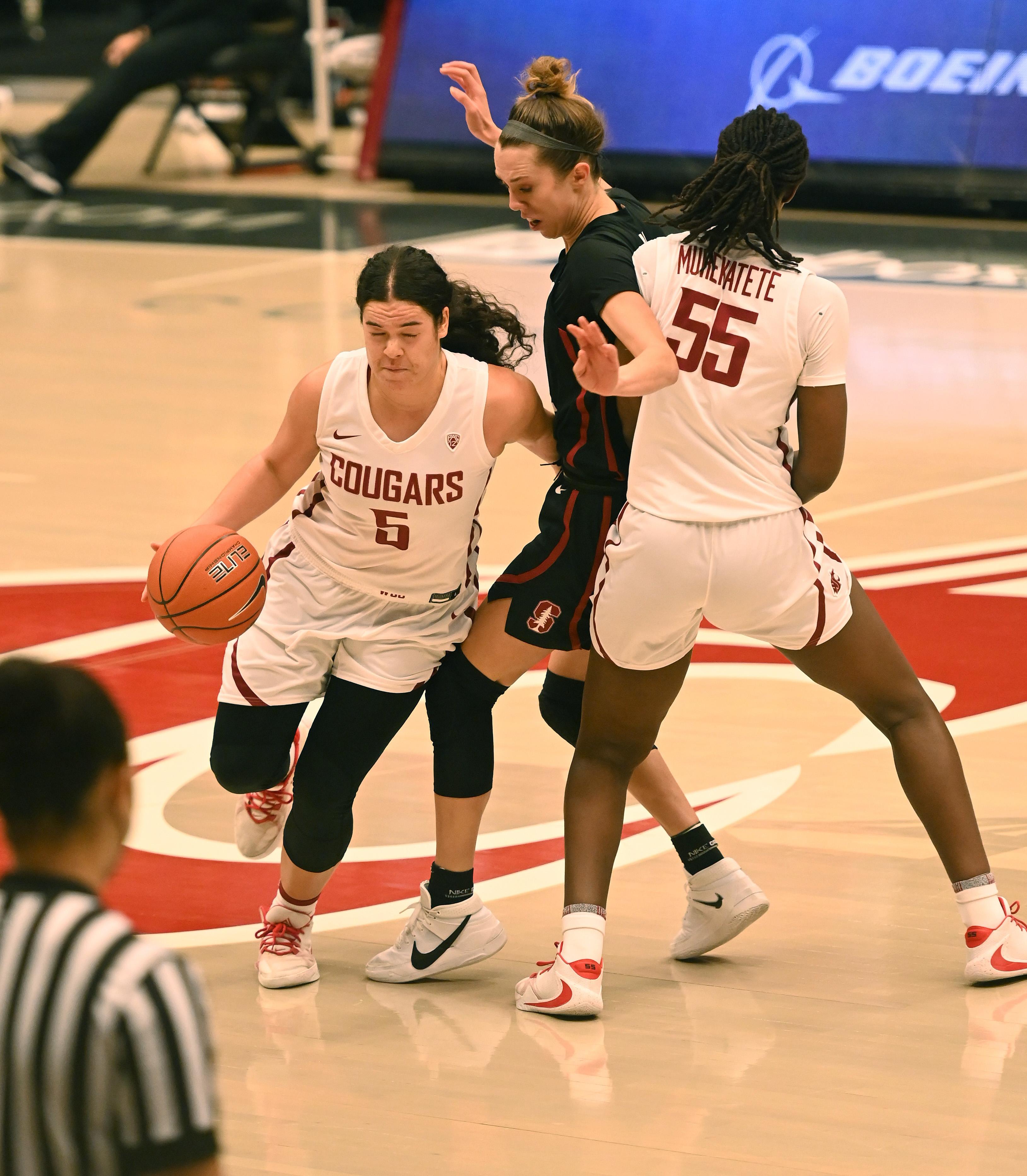 COLLEGE BASKETBALL: JAN 29 Women's Stanford at Washington State