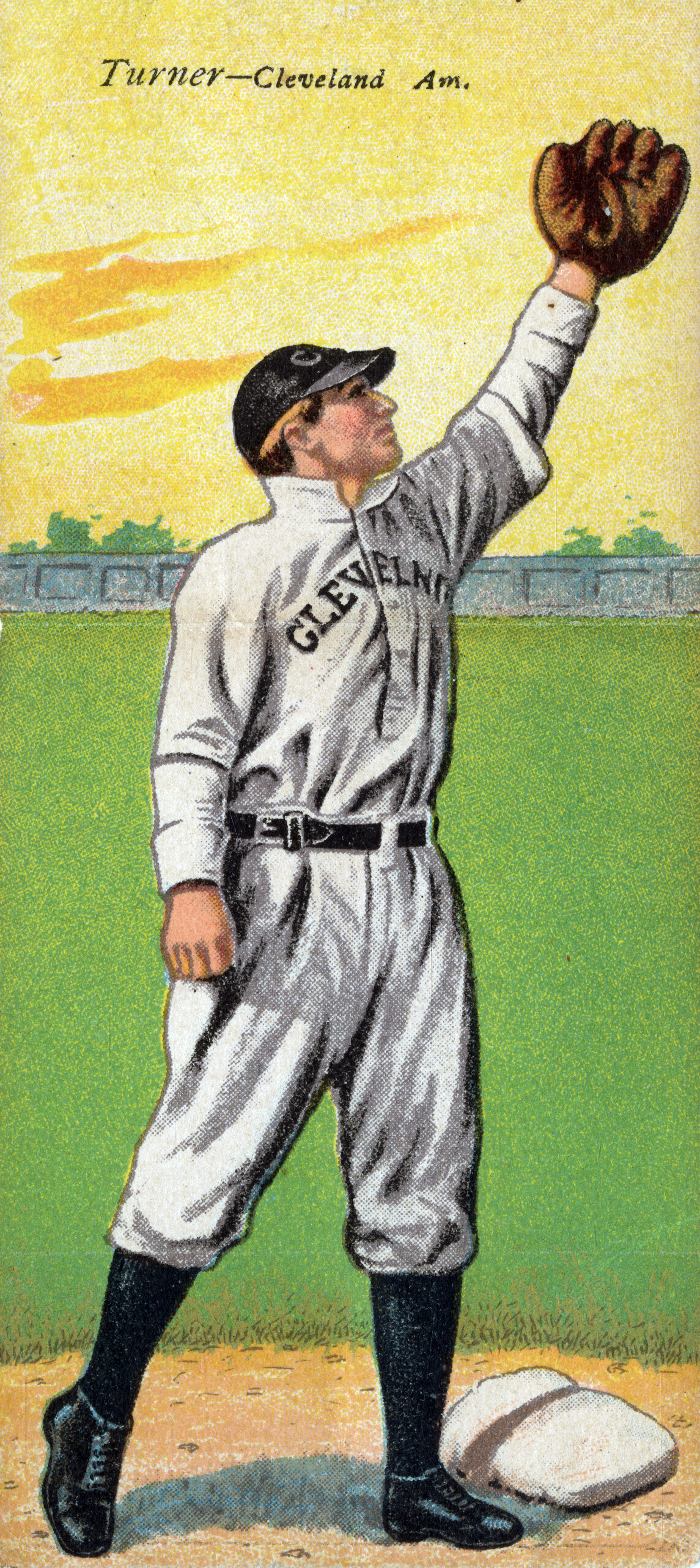 Cigarette Card Of Terry Turner