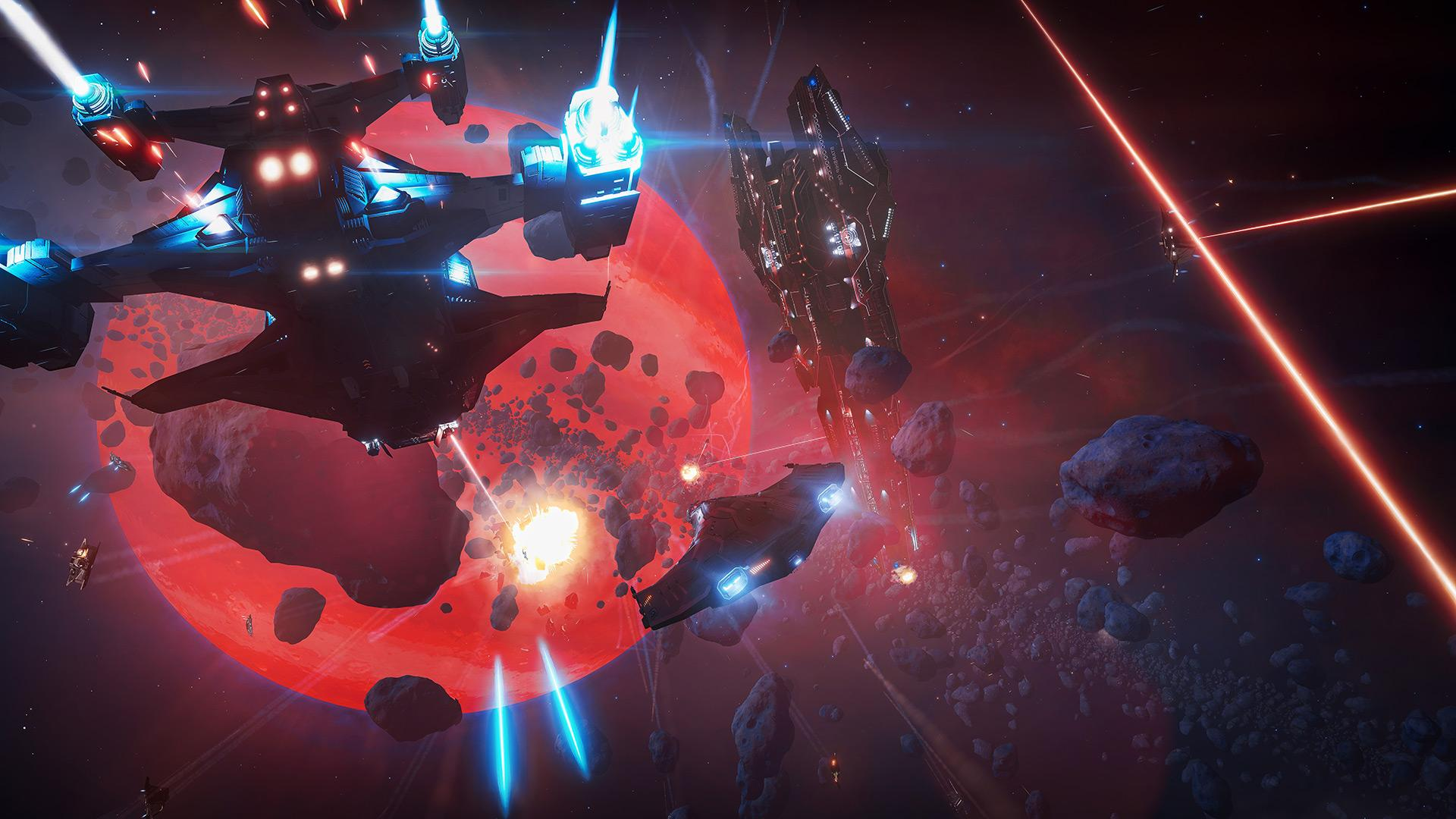 PvP combat in Elite: Dangerous
